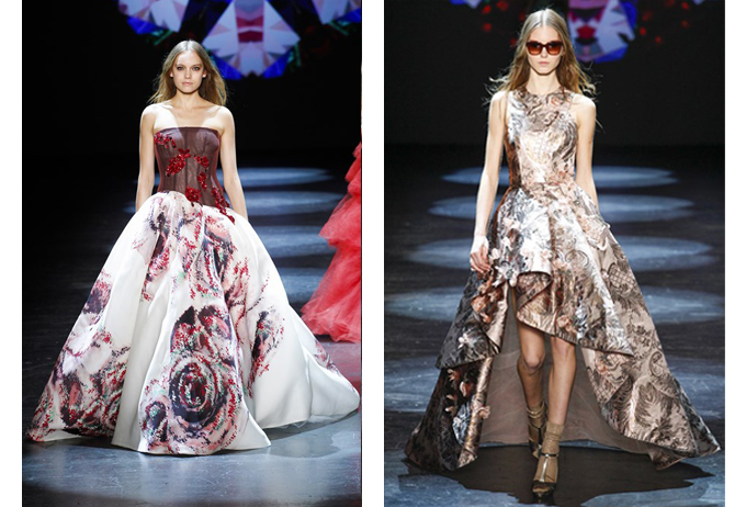 blog wedding dress ideas from fall fashion week