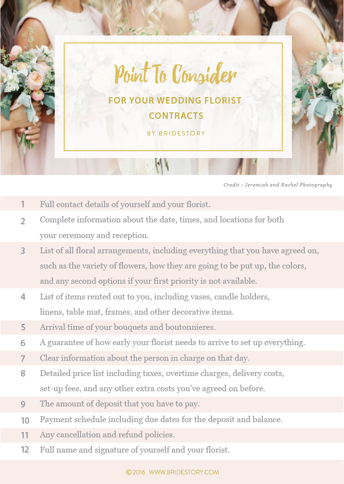 How to Choose the Best Wedding Florist and Flowers Image 4