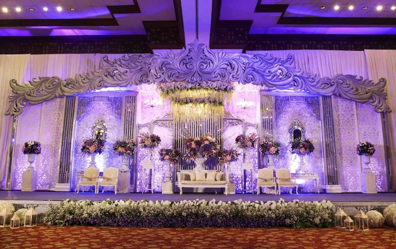 Purple moonlight by mawarprada wedding decoration bridestory junglespirit Choice Image