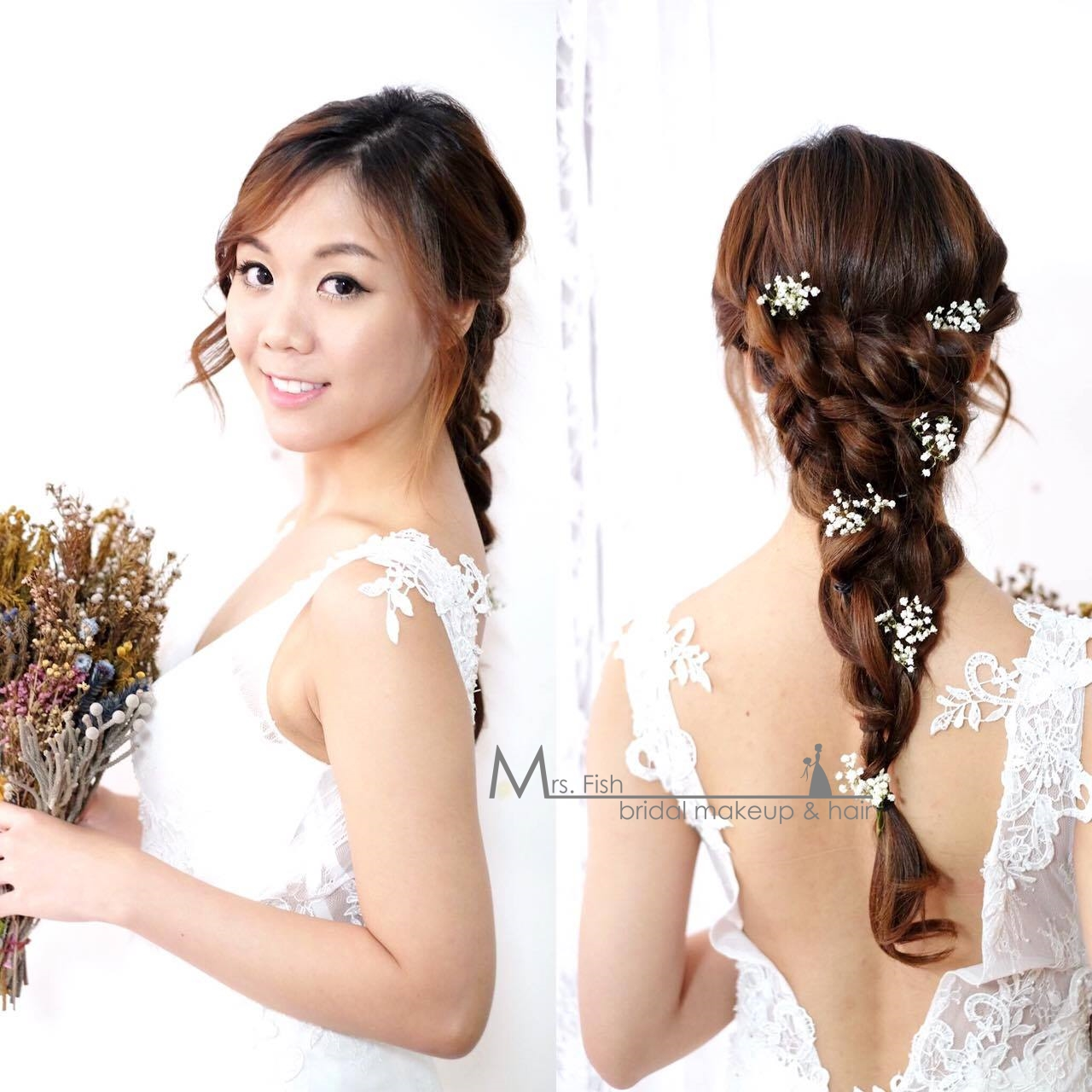 Bridal Makeup & Hairstyling by 1728 Wedding House Singapore ...