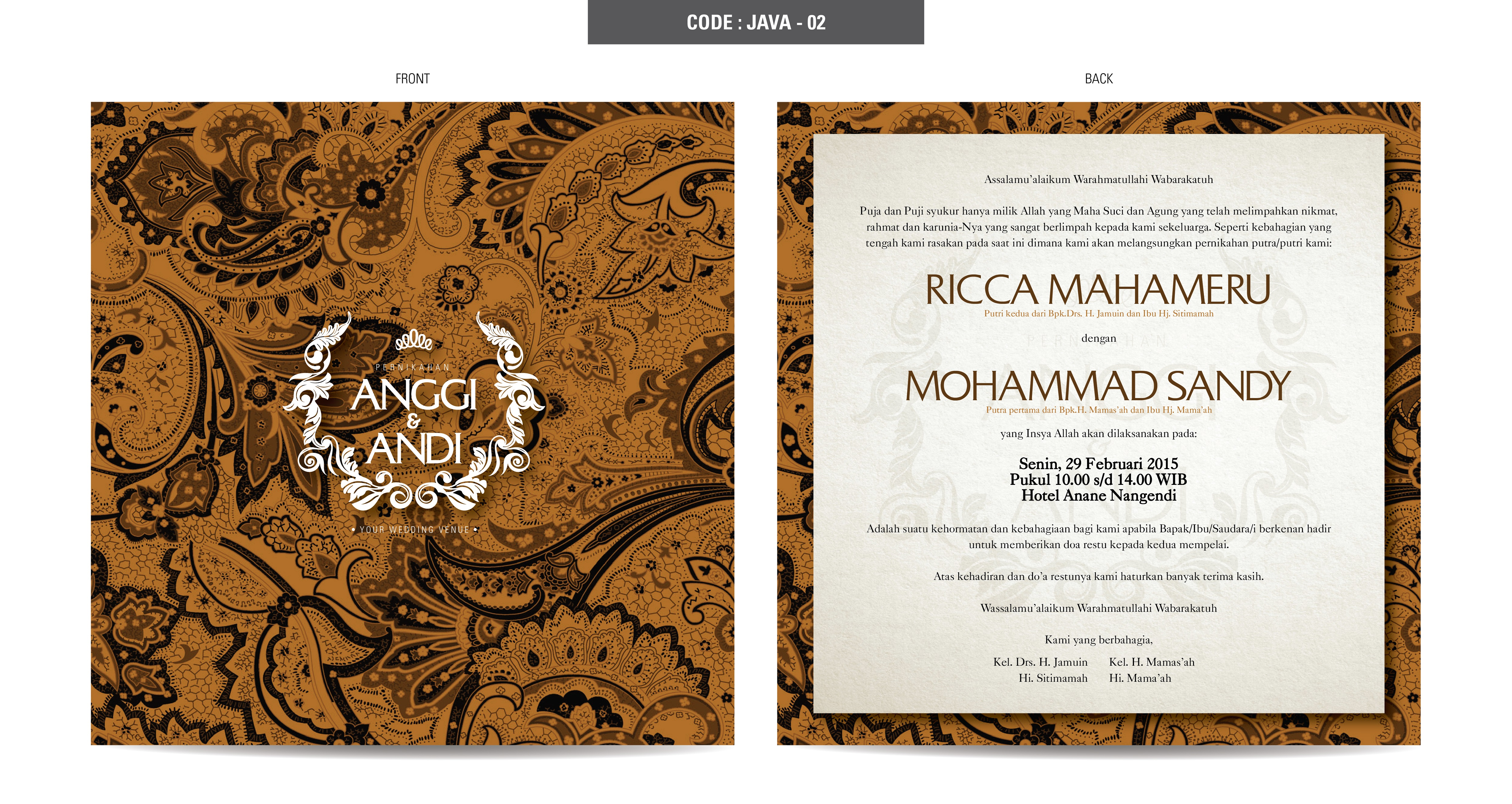 Javva series by derzia paper bridestory stopboris Image collections