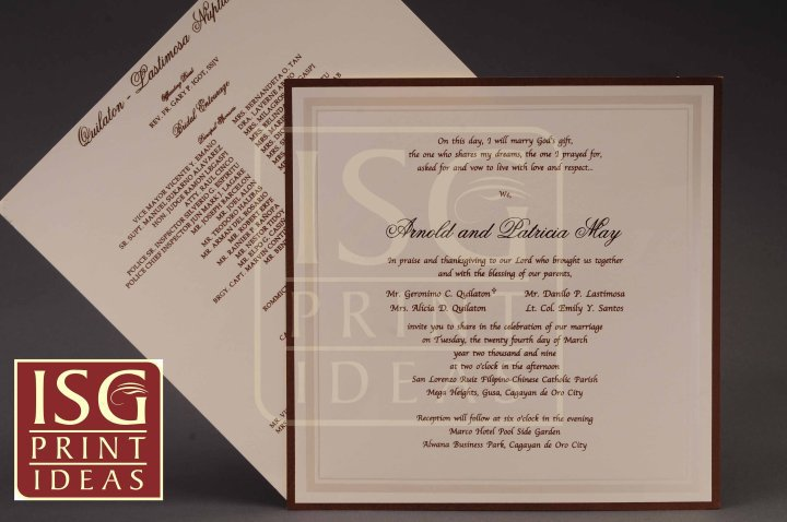 Isg print ideas wedding invitations in misamis oriental isg print ideas wedding invitations in misamis oriental bridestory stopboris Images