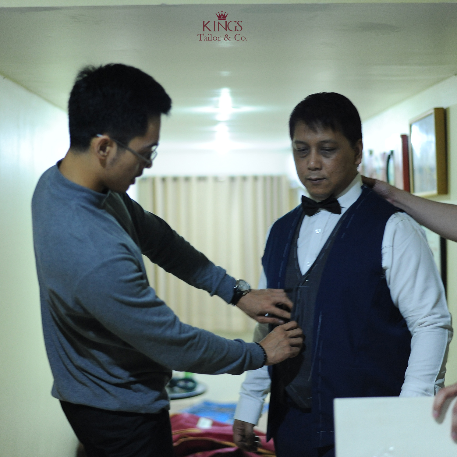 Kahitna Fitting For 30th Years Anniversary By Kings Tailor Houseofcuff Square Pink Light Tie Co