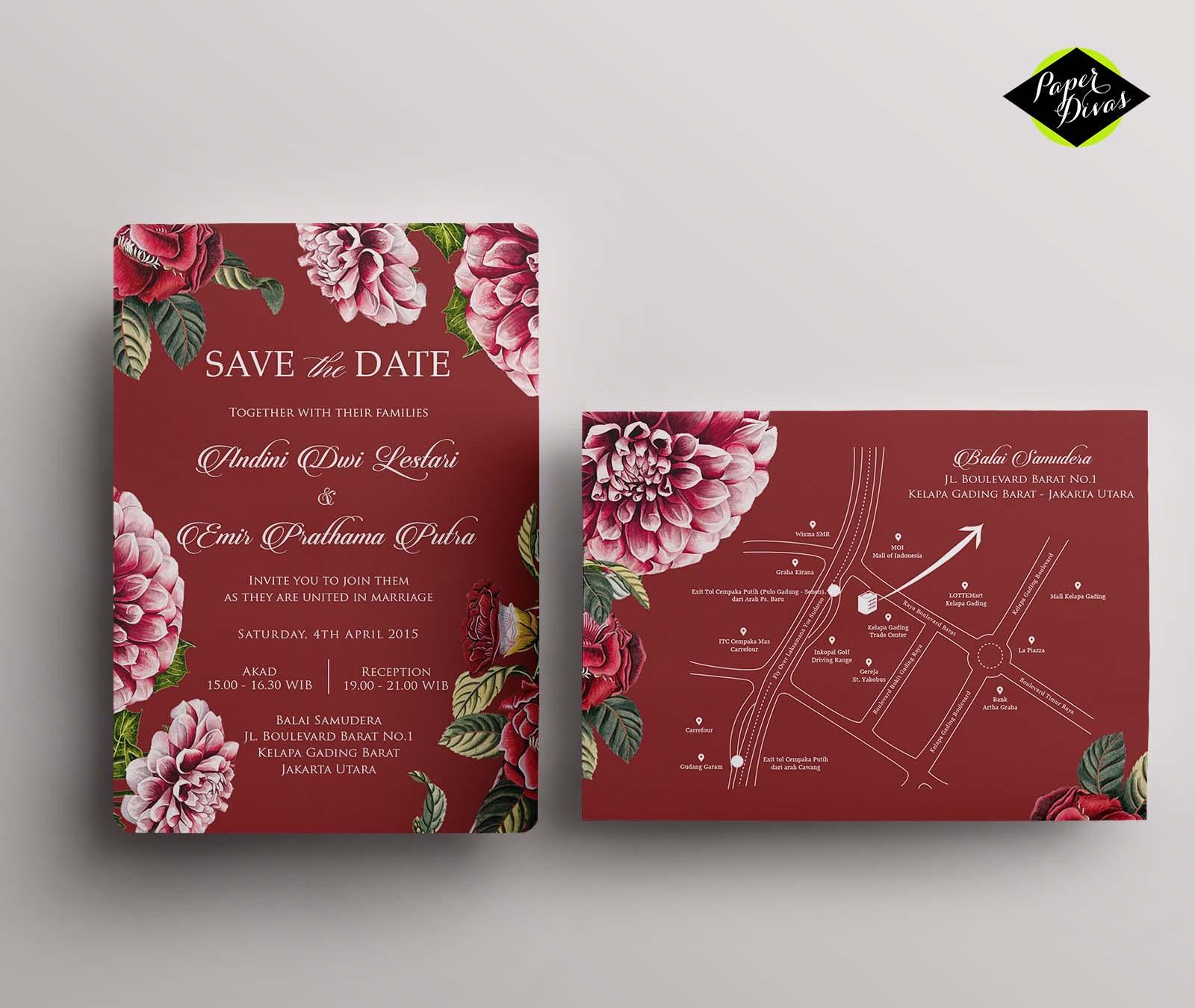 30 Lovely Wedding Invitation Design Jakarta Graphics - Wedding ...