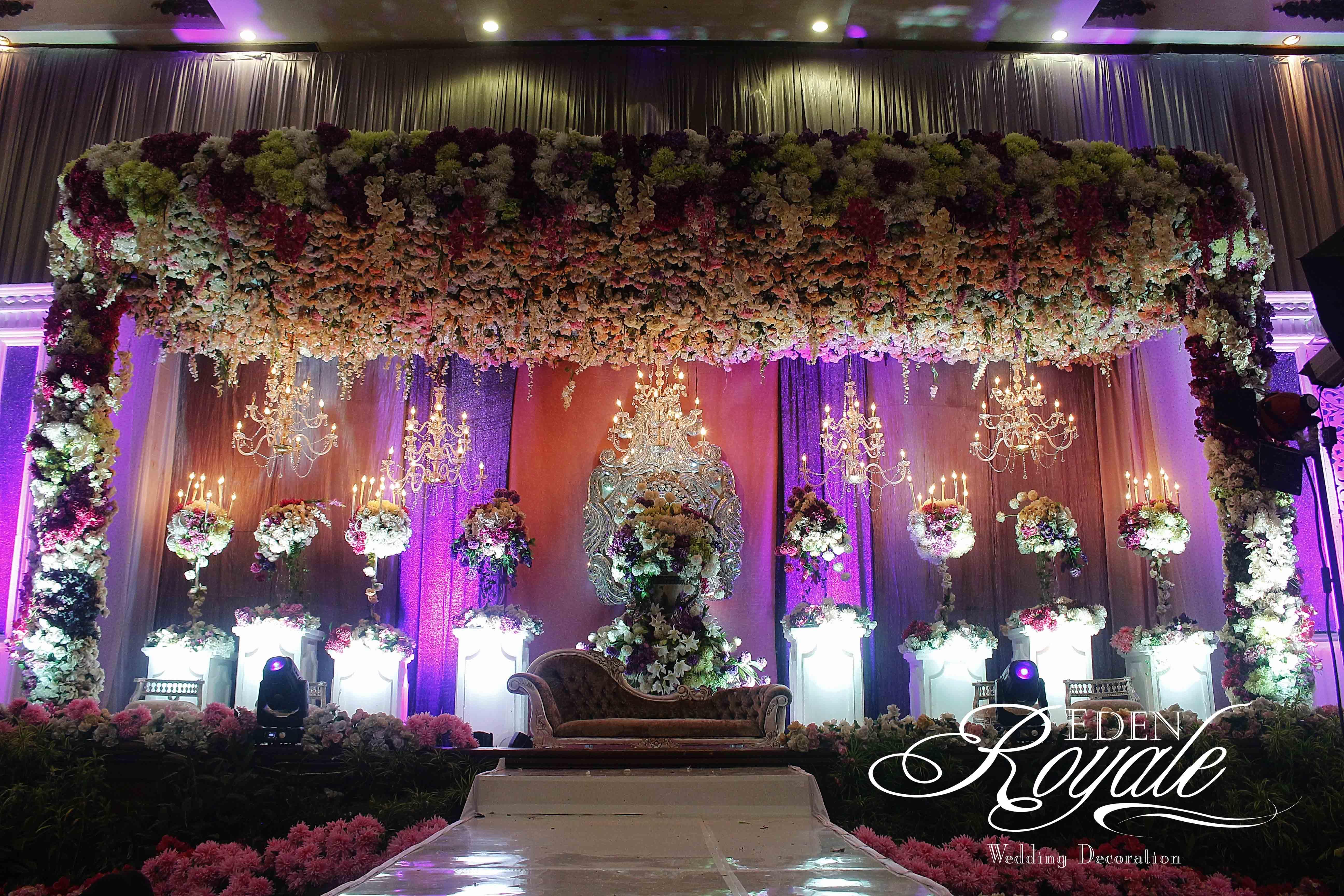 The wedding of abdullah nadira by eden design bridestory junglespirit Images