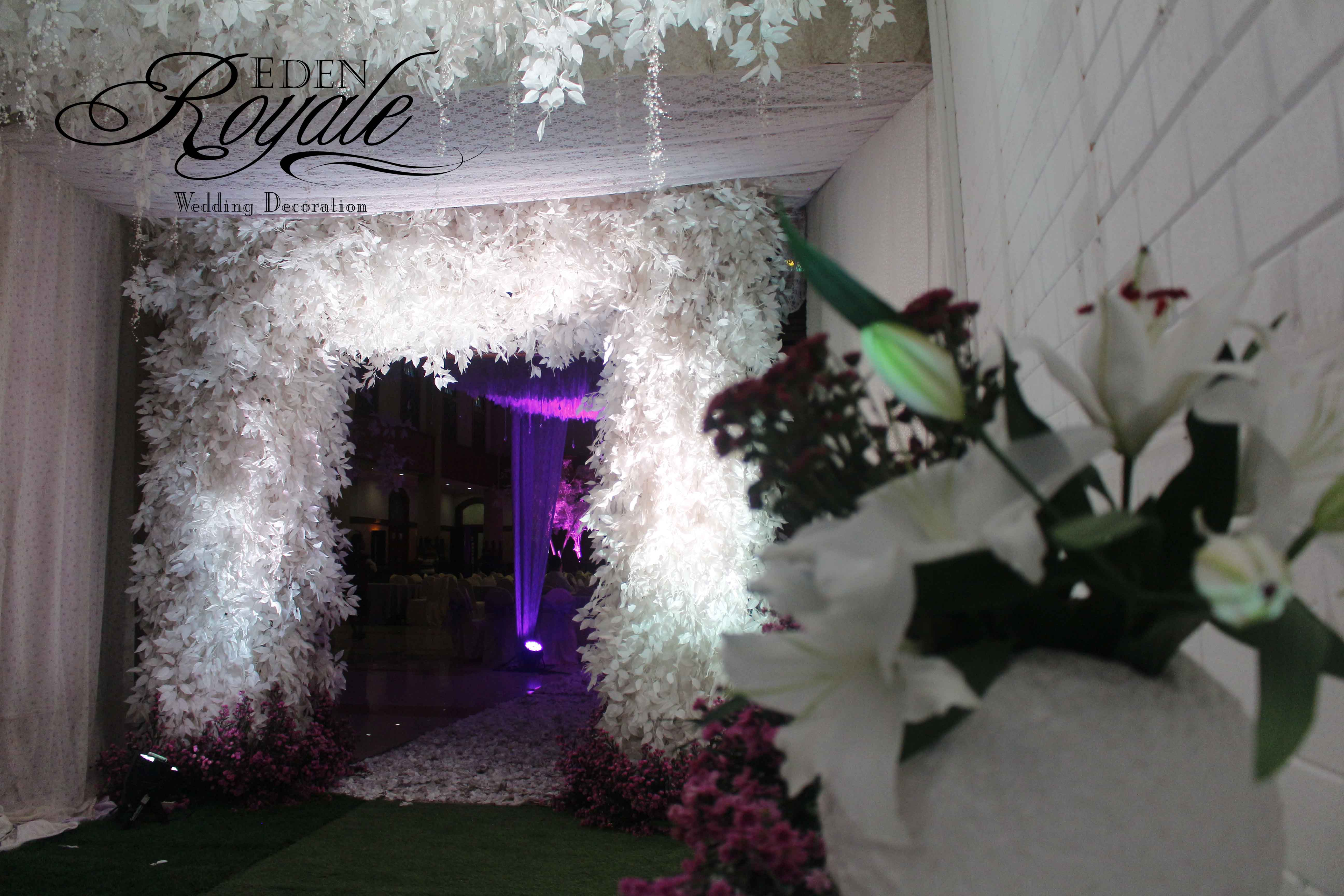 The wedding of abdullah nadira by eden design bridestory junglespirit Choice Image