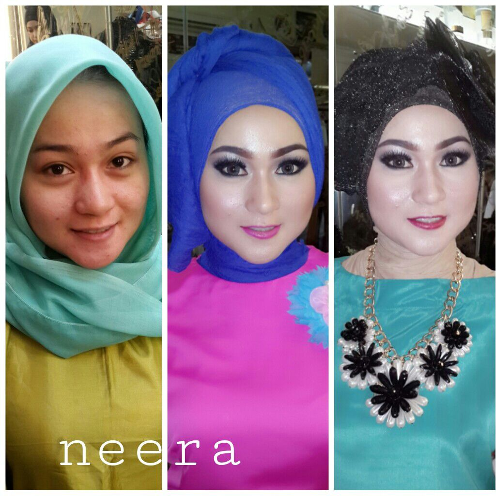 neera muslimah make up | wedding hair & makeup in jakarta