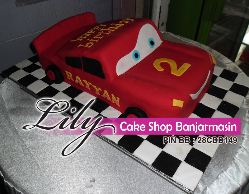 Kue Mobil Atau Car Cake By Lily Cake Shop Banjarmasin