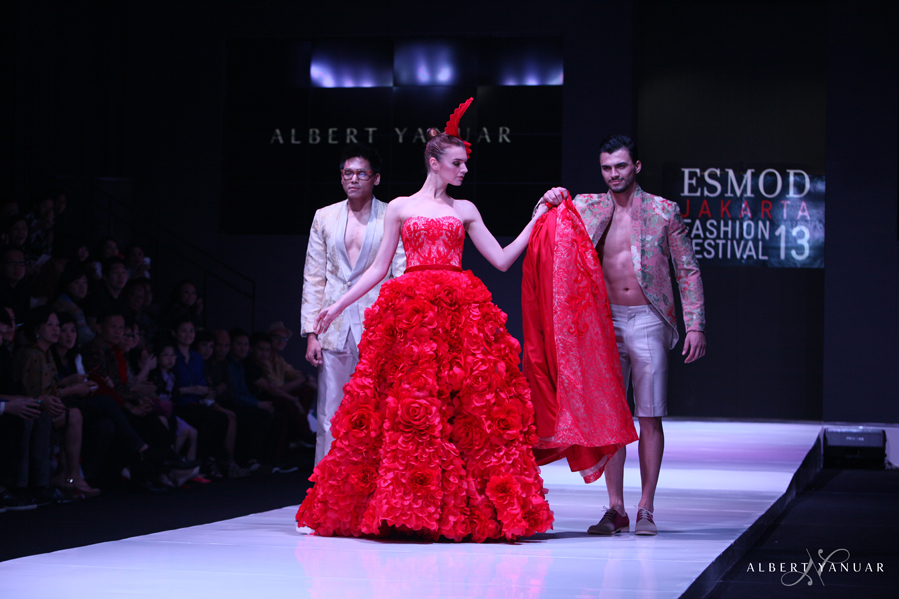 Spring Summer 2013 La Vie En Rose Esmod Jakarta Fashion Festival