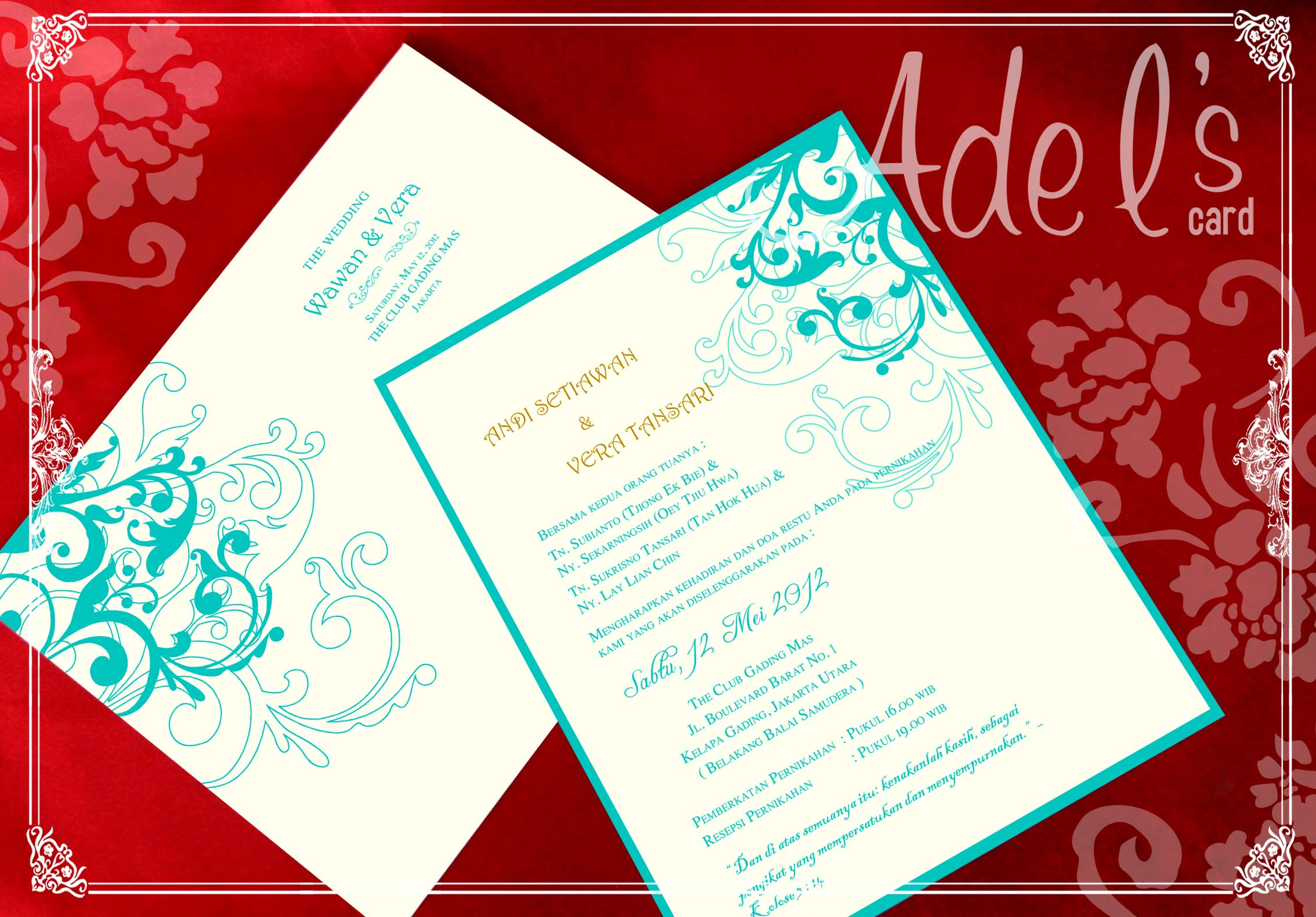 Special Wedding Card by Adel\'s House of card | Bridestory.com