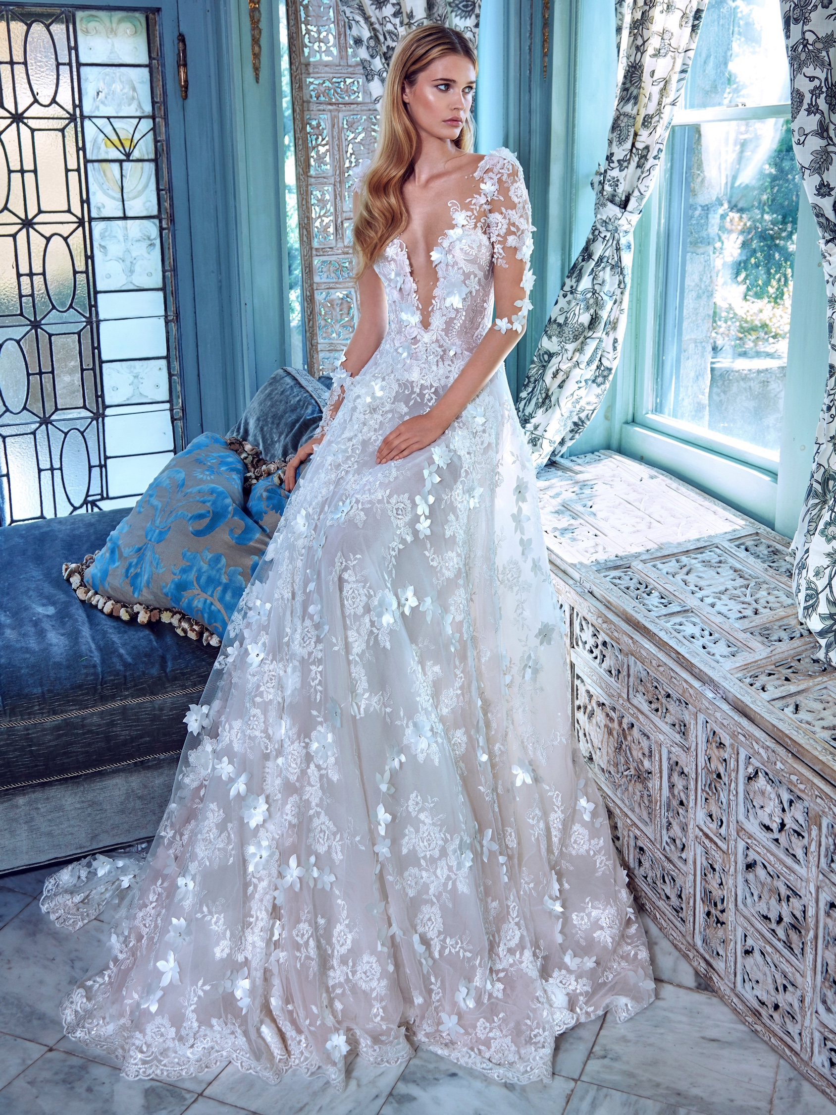 Galia Lahav - Spring 2017 Le Secret Royal Collection by The Proposal ...