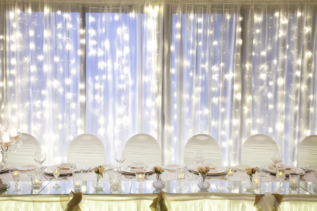 Wedding Fairy Lights Backdrop By Cinderella Dream Bridestory