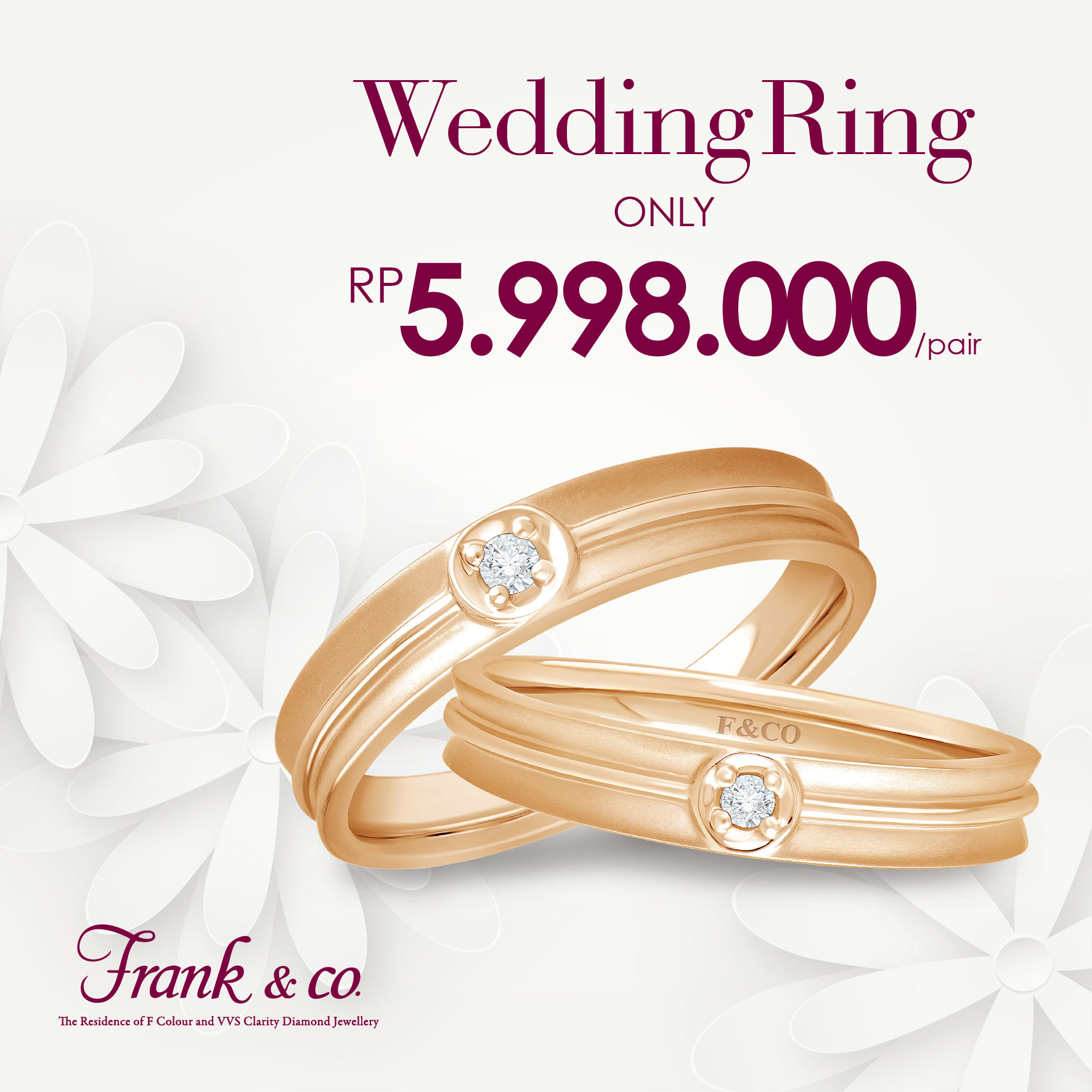 Wedding Ring Special Price By Frank Co