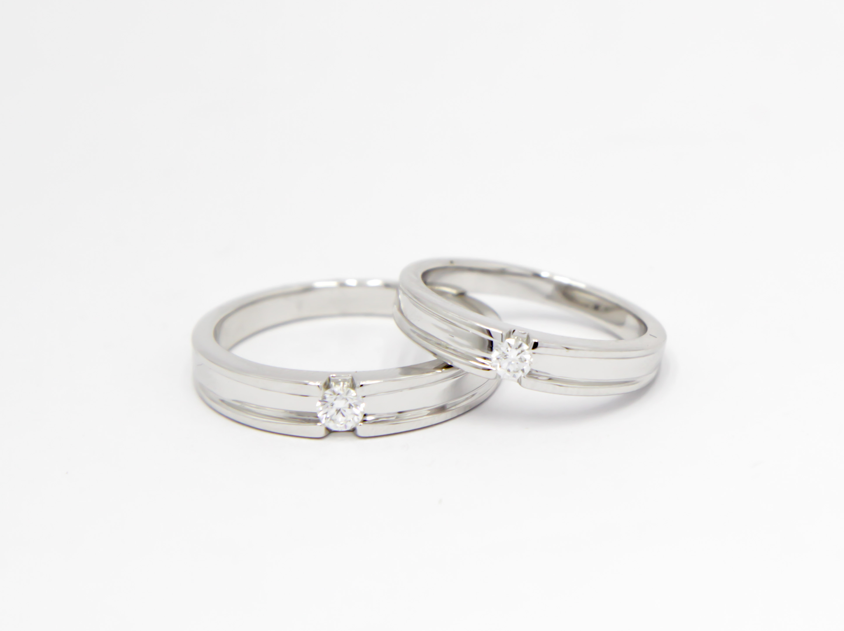 Wedding Ring By Sbs Jewellery Cincin Kawin Palladium 028