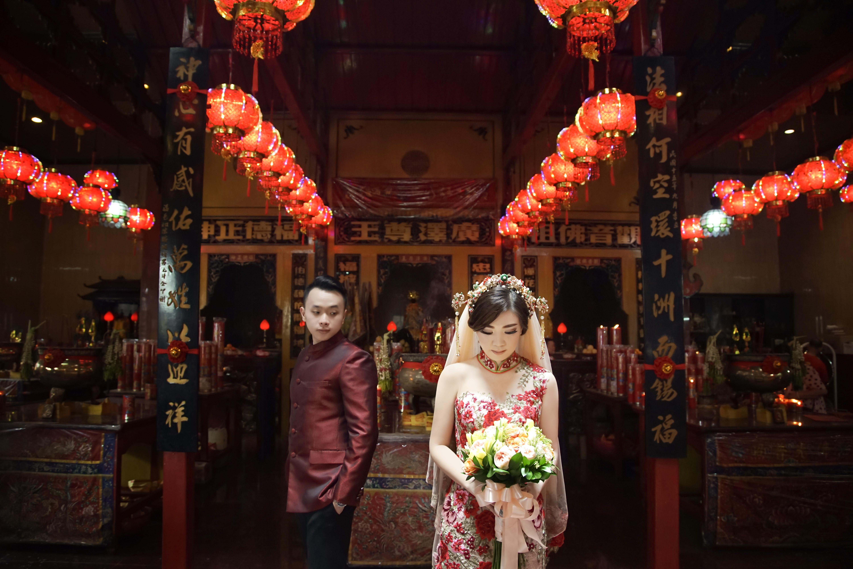 Wedding Of Martin Stefanny By Fairytale Organizer Houseofcuff Square Pink Light Tie