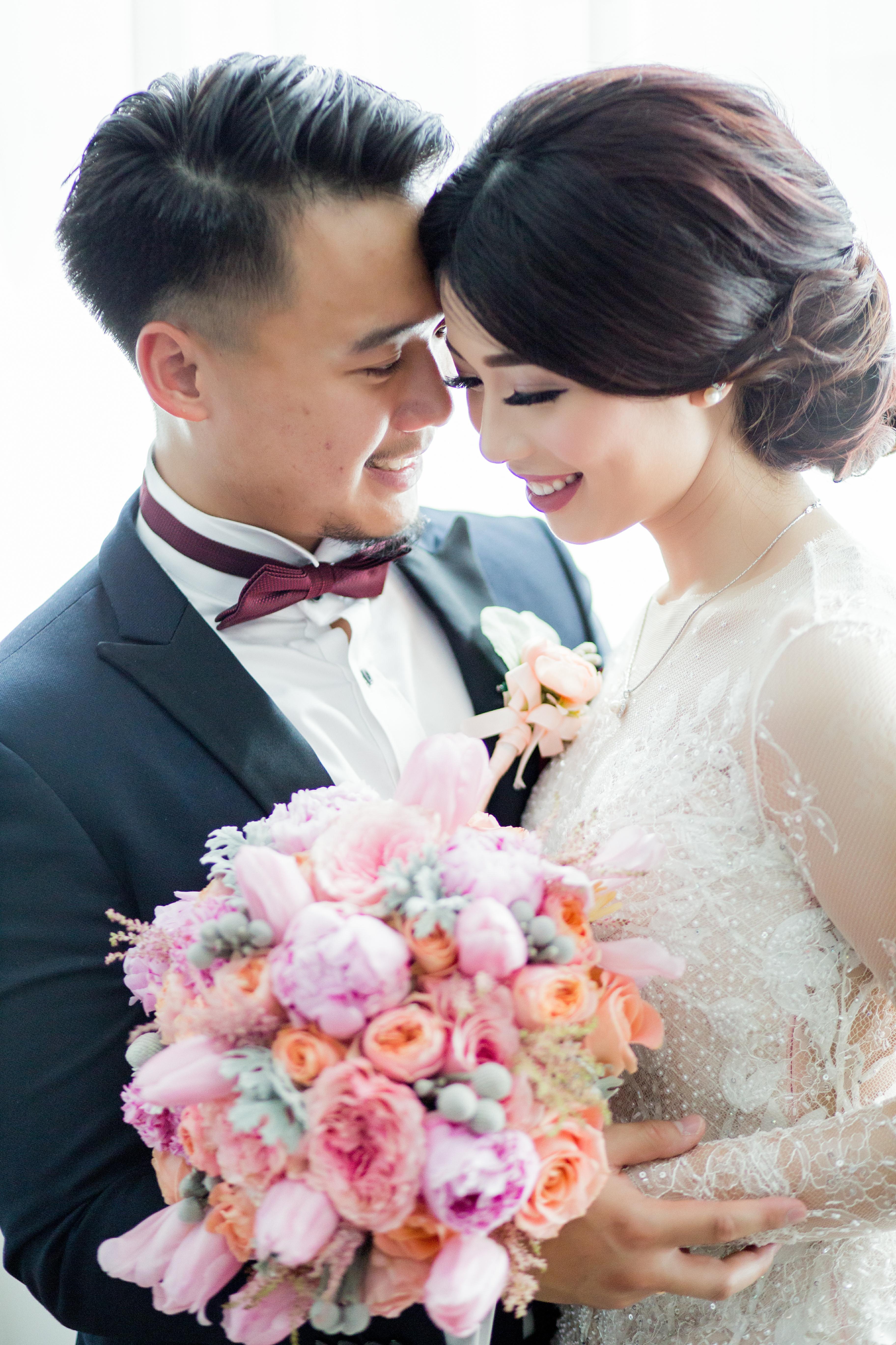 Eko Medi Wedding By Hilda Bridestory Houseofcuff Square Pink Light Tie