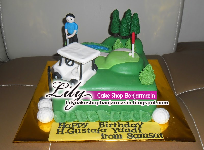 Kue Golf atau Golf Cake by Lily Cake Shop Banjarmasin Bridestorycom