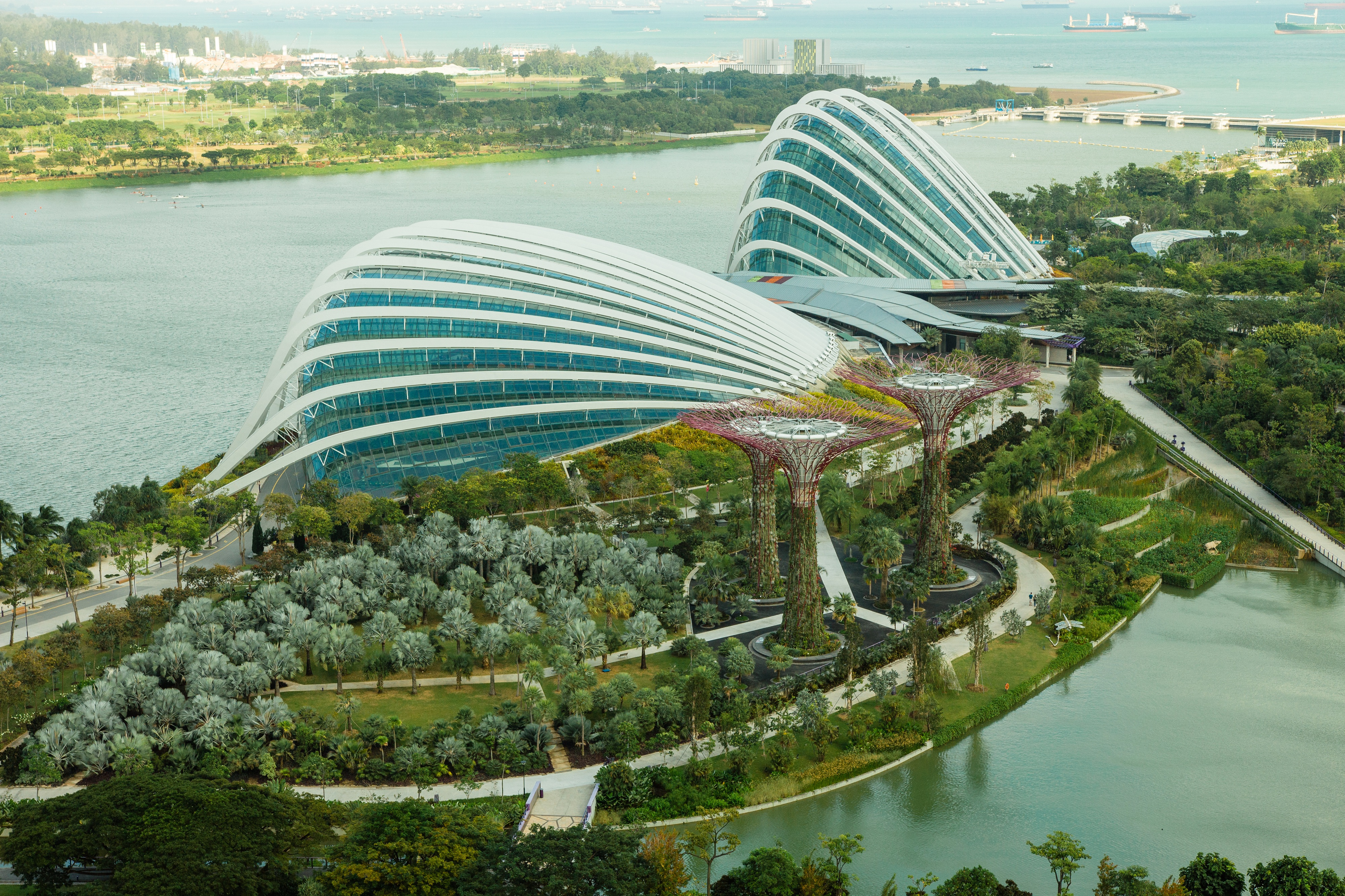 gardens by the bay wedding venue in singapore bridestorycom - Garden By The Bay Flower Field Hall