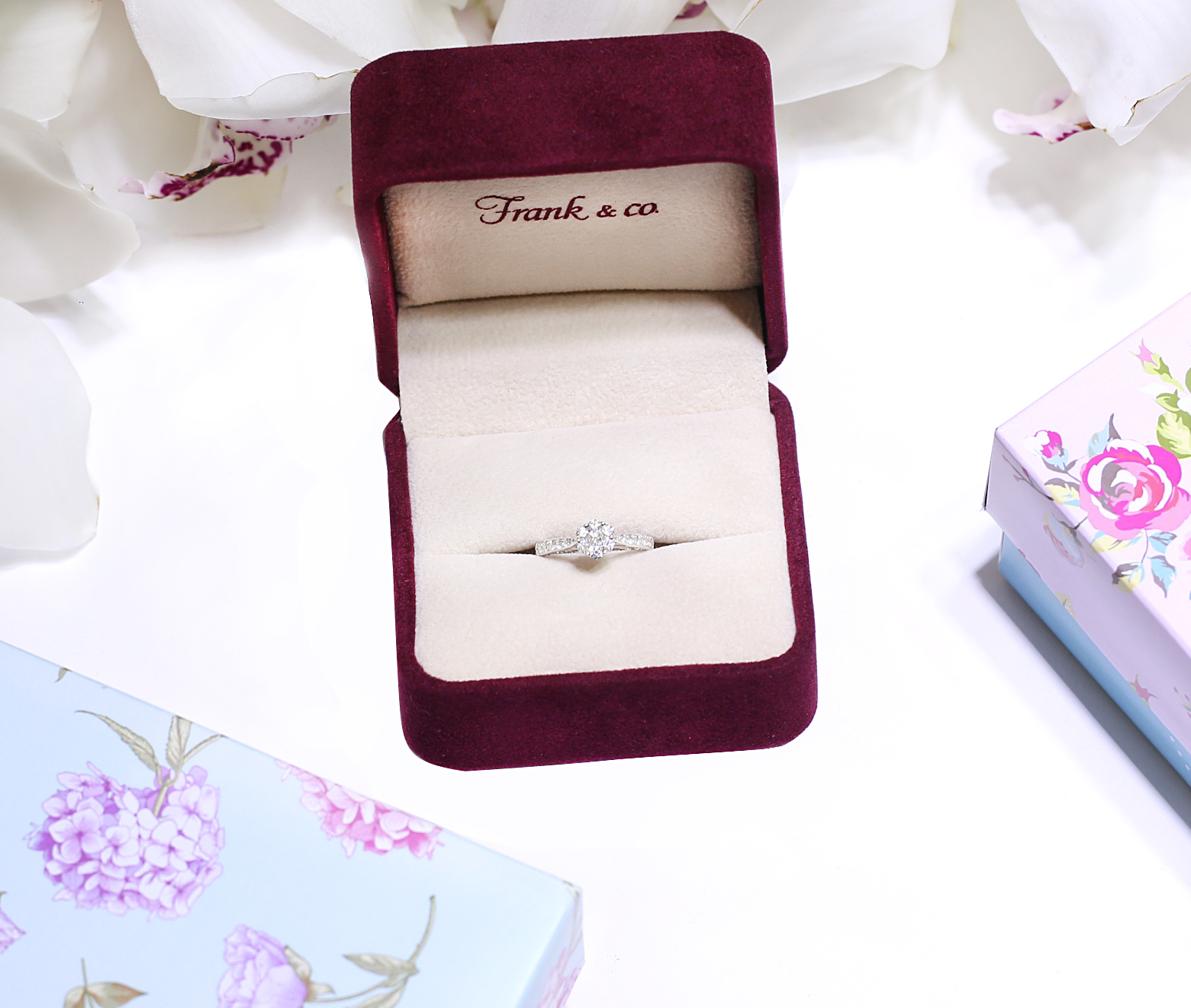 Engagement Ring By Frank Co