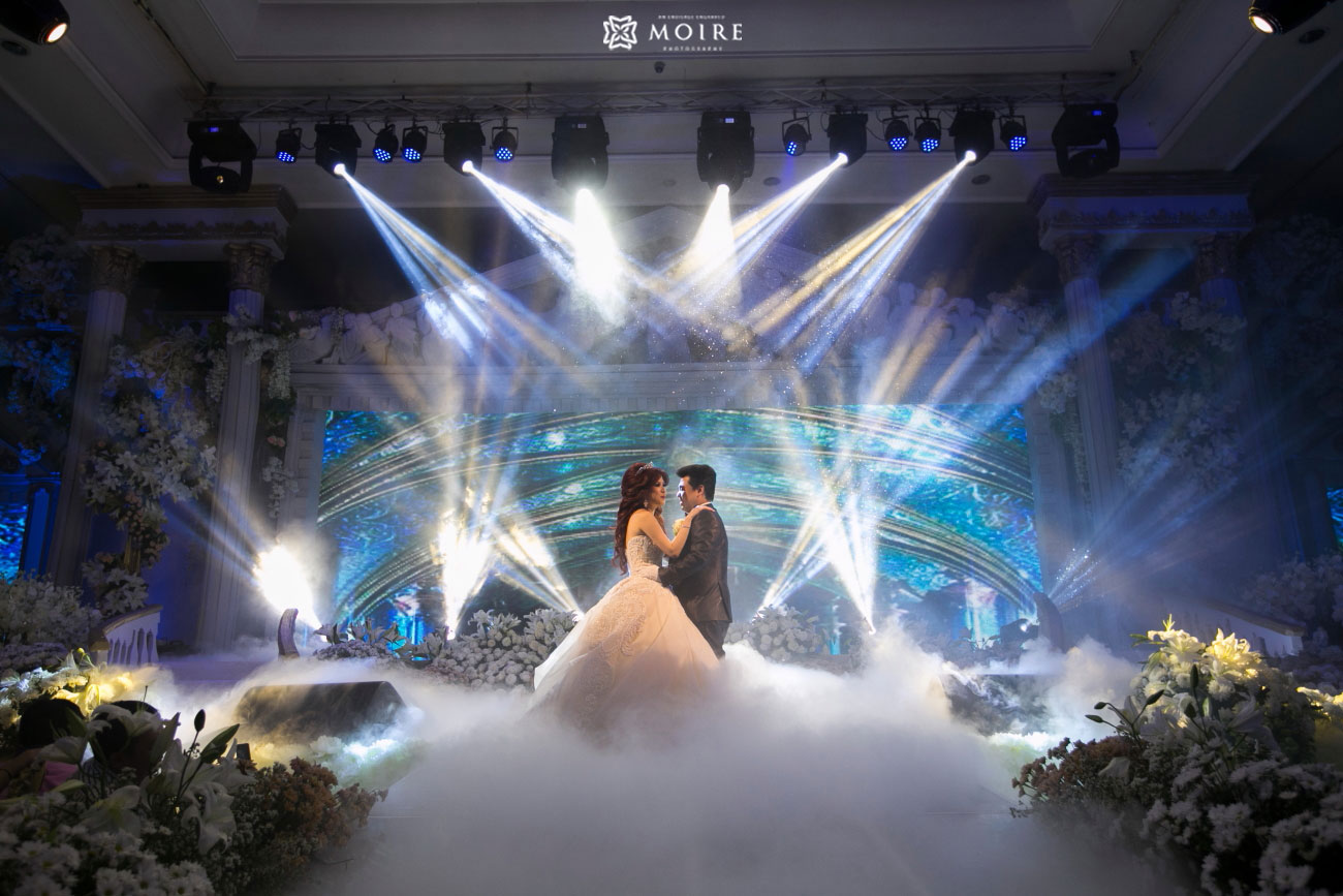 Wedding Of Fusan Celine By Fairytale Organizer Houseofcuff Square Pink Light Tie