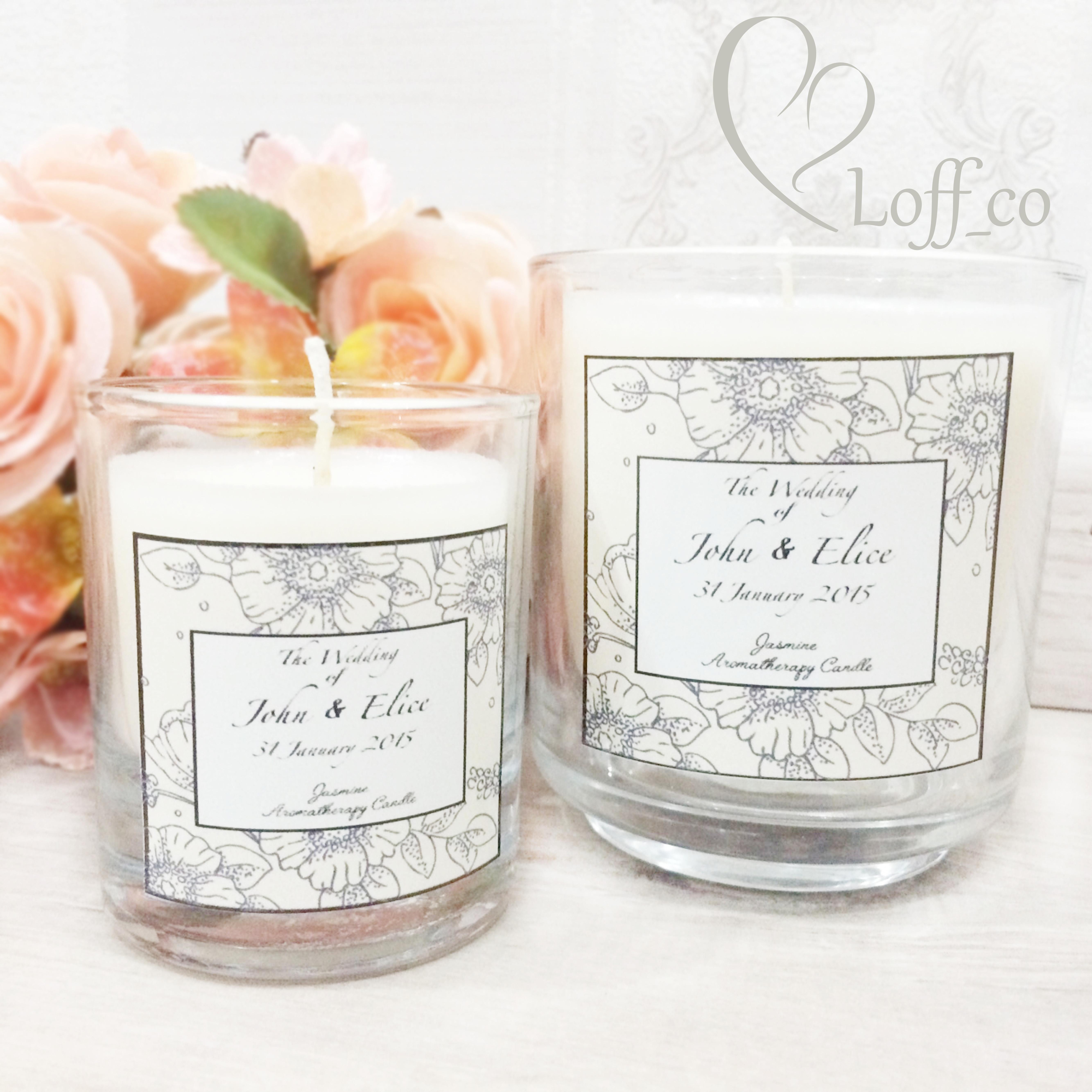 Aromatherapy Candle by Loff_co souvenir | Bridestory.com