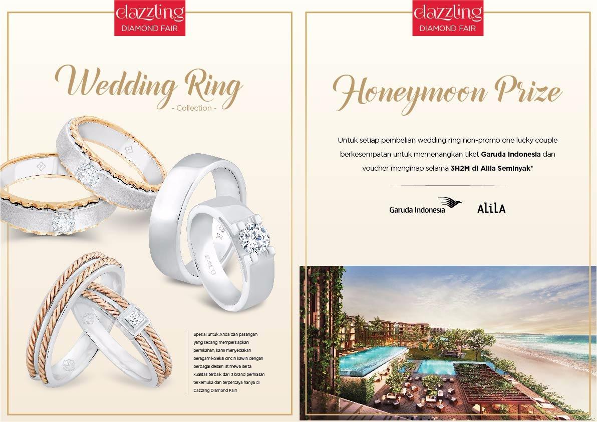 The Palace Jeweler Wedding Jewelry In Jakarta Rose Ring Cincin Emas Berlian Perhiasan Kawin
