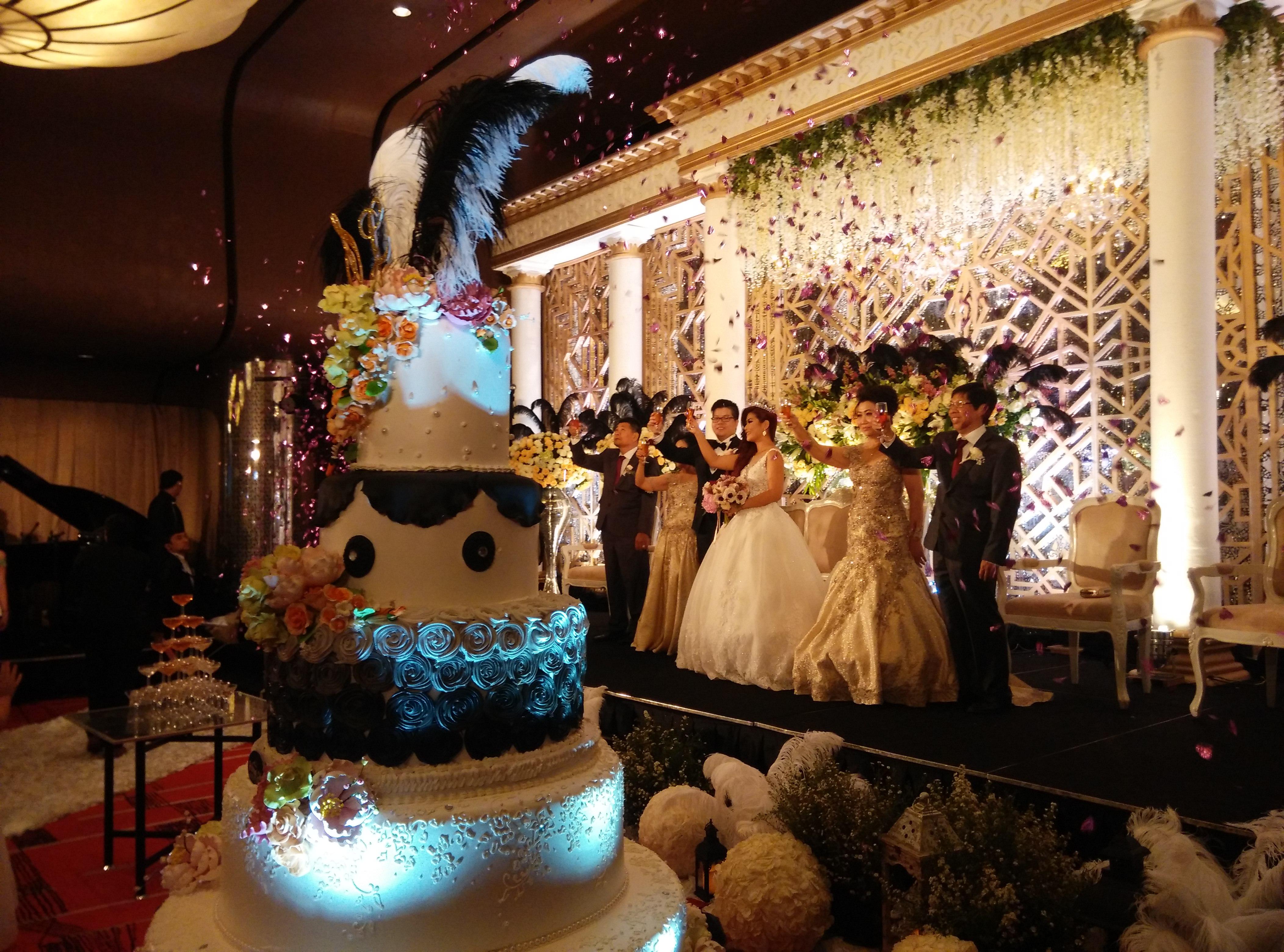 Great Gatsby wedding theme Samuel & Lisa by D KeY wedding