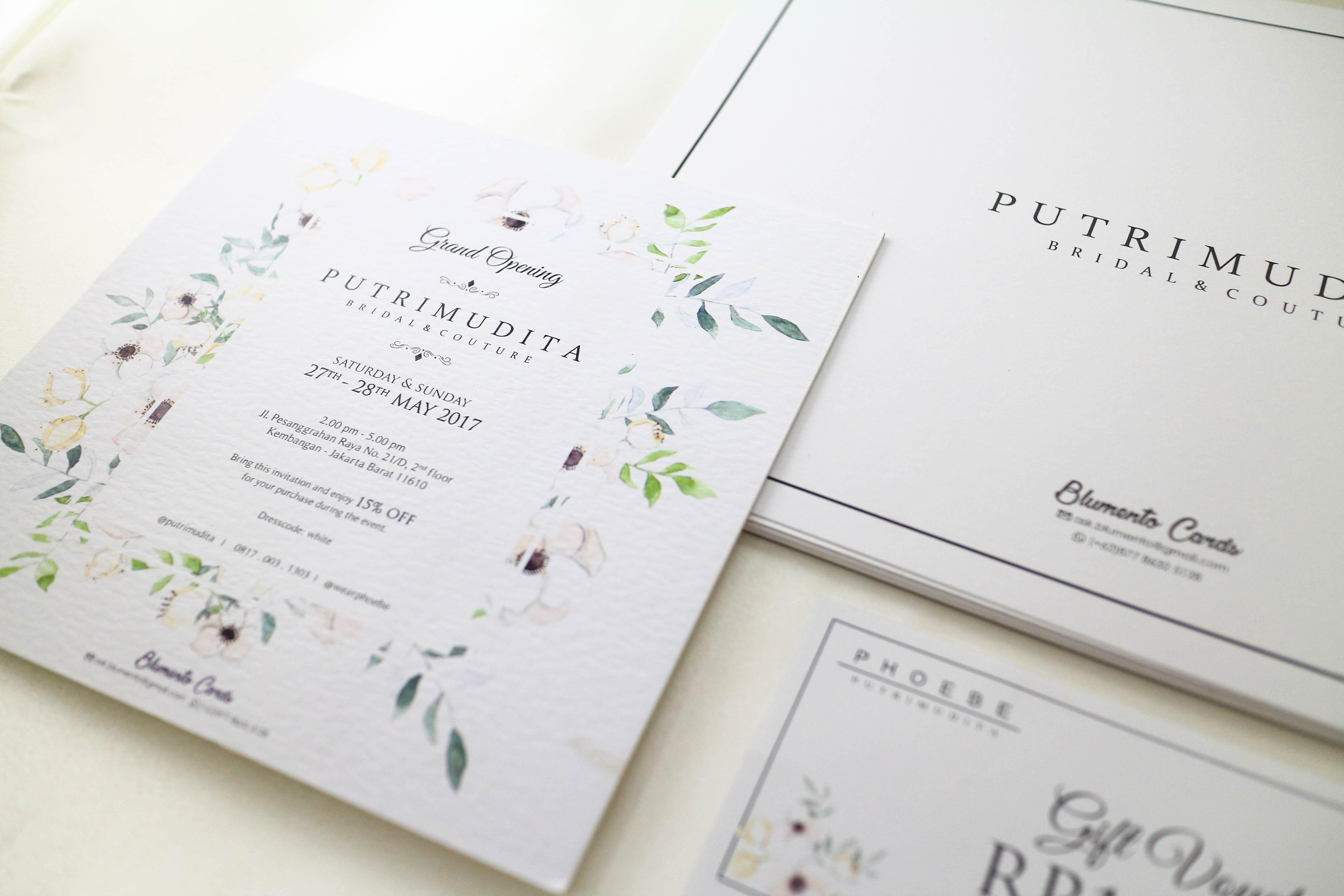Blumento cards wedding invitations in jakarta bridestory stopboris Gallery