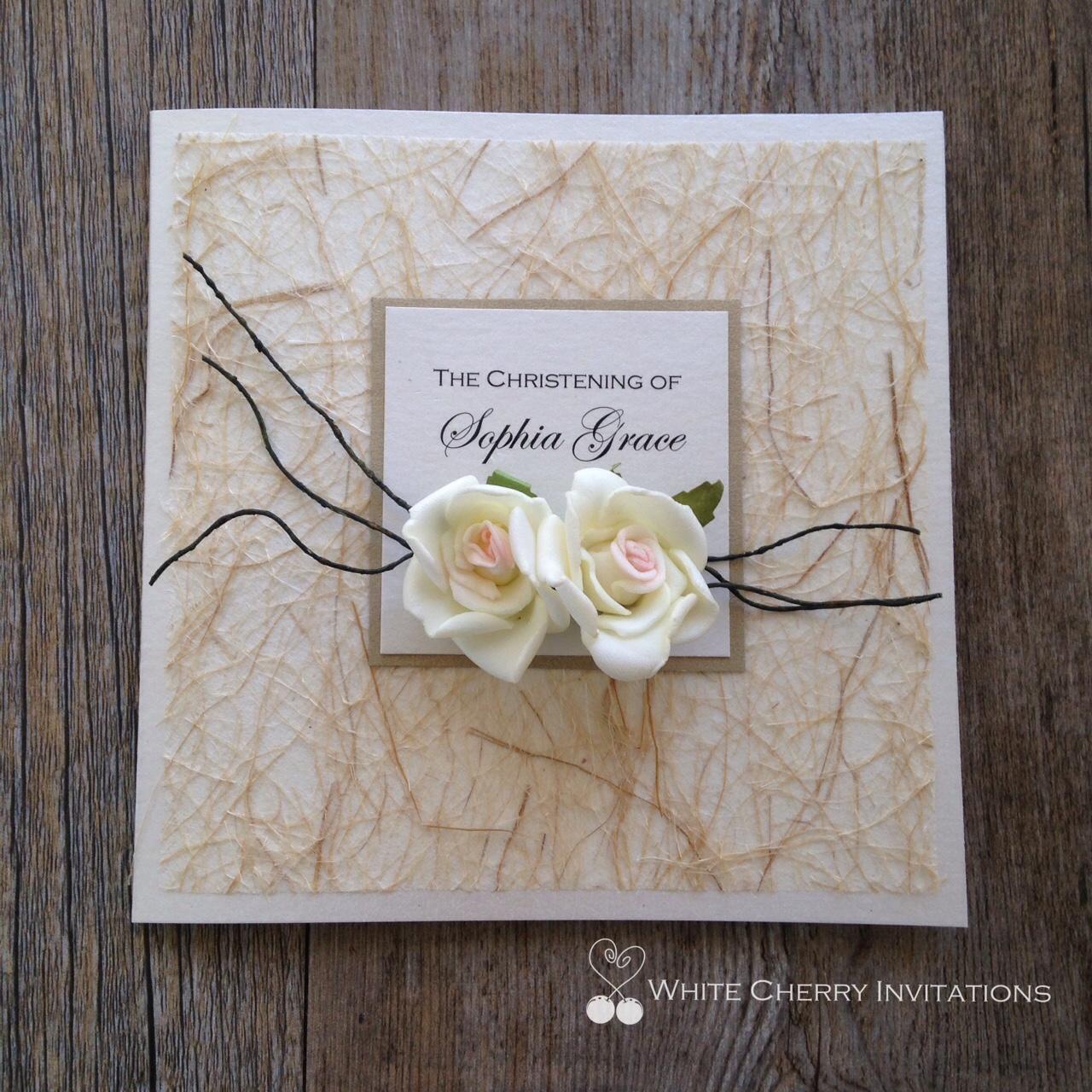 White Cherry Invitations | Wedding Invitations in Sydney (New ...
