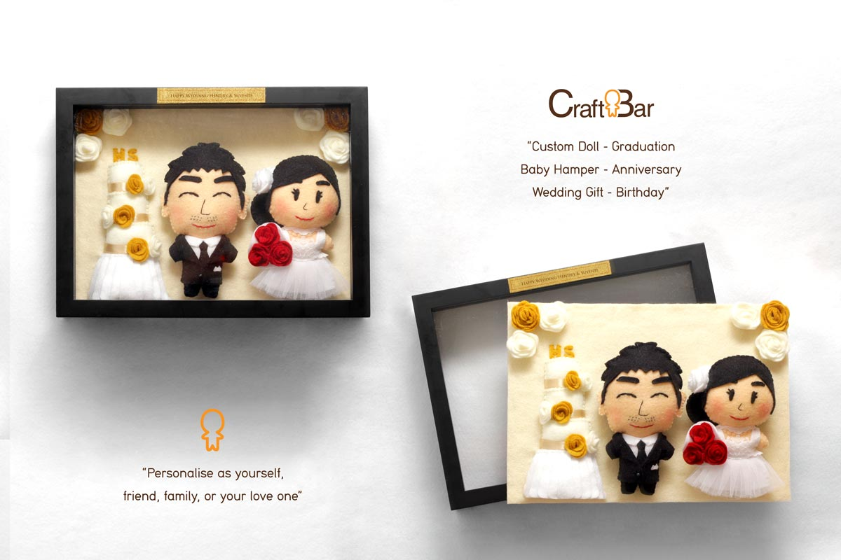 Craftbar wedding favors gifts in jakarta bridestory negle Image collections