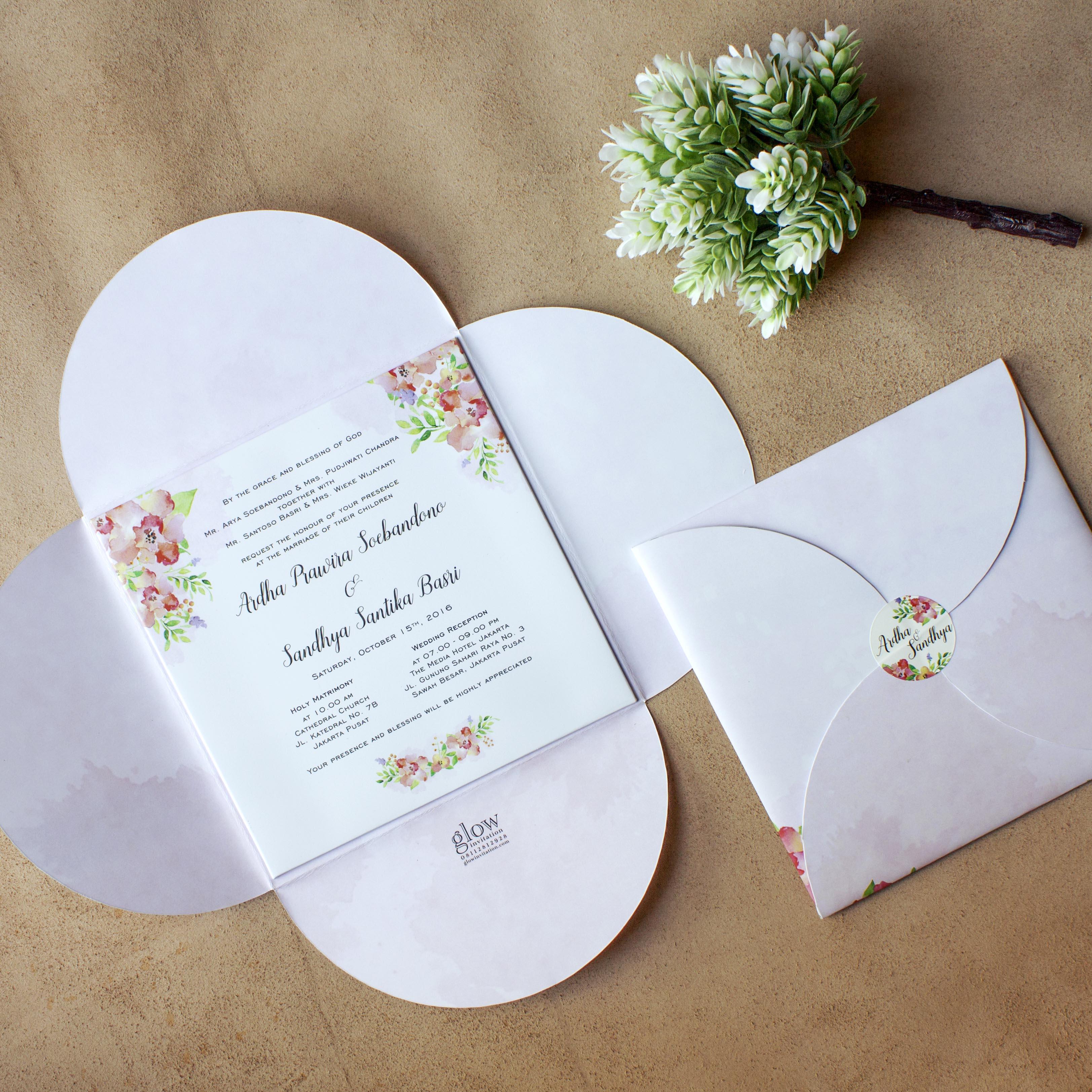 Glow invitation wedding invitations in jakarta bridestory stopboris Choice Image