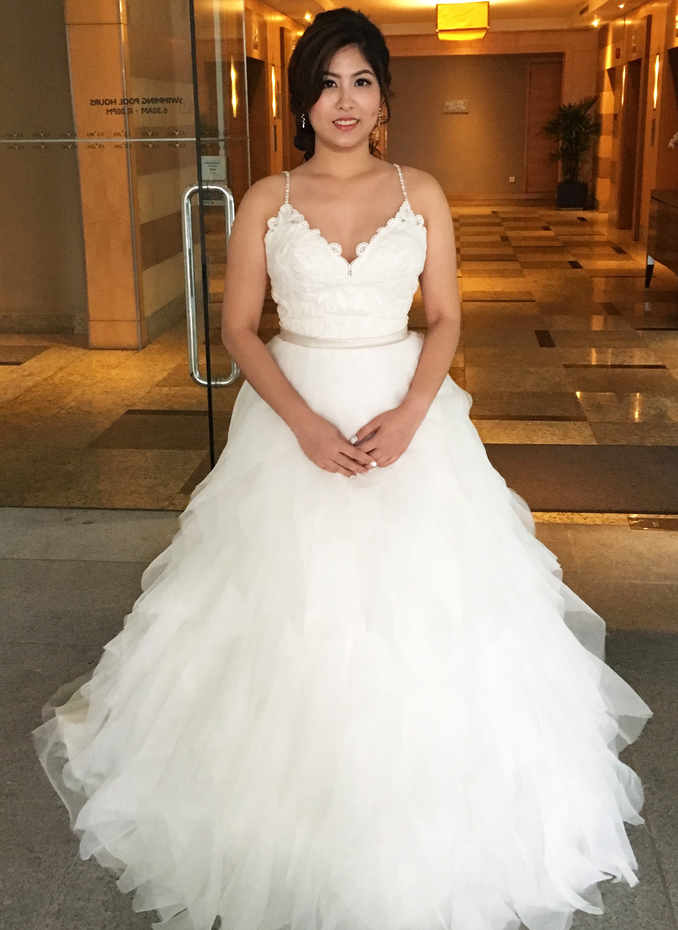 Ad For Priscilla And Adrian Stunning Gorgeous Romantic Bridal
