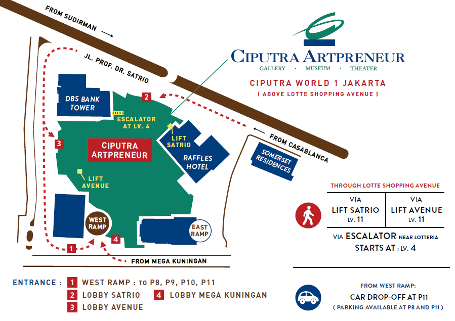 Layout of ciputra artpreneur gallery by ciputra artpreneur layout of ciputra artpreneur gallery by ciputra artpreneur bridestory gumiabroncs Images