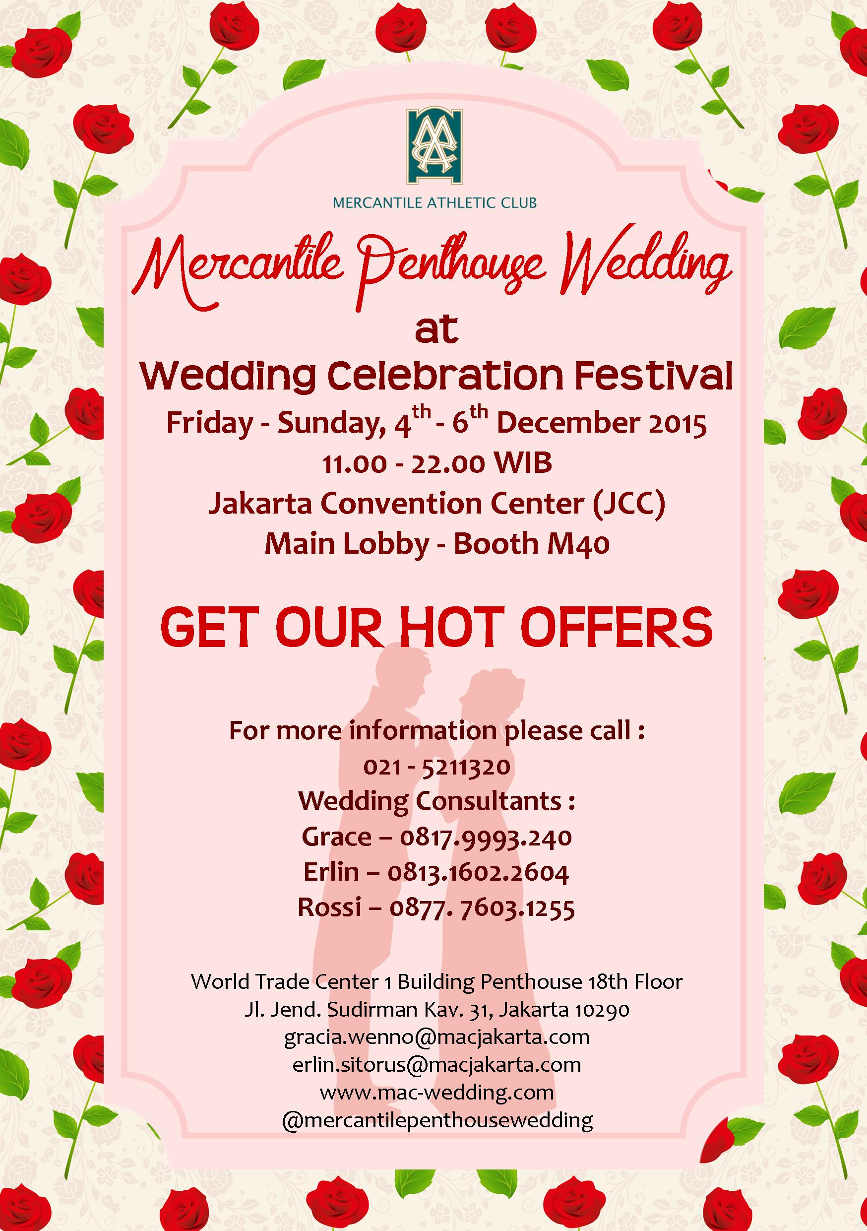 Our Event Promo By Mercantile Penthouse Wedding Kupon Photo Booth Pernikahan Souvenir 1