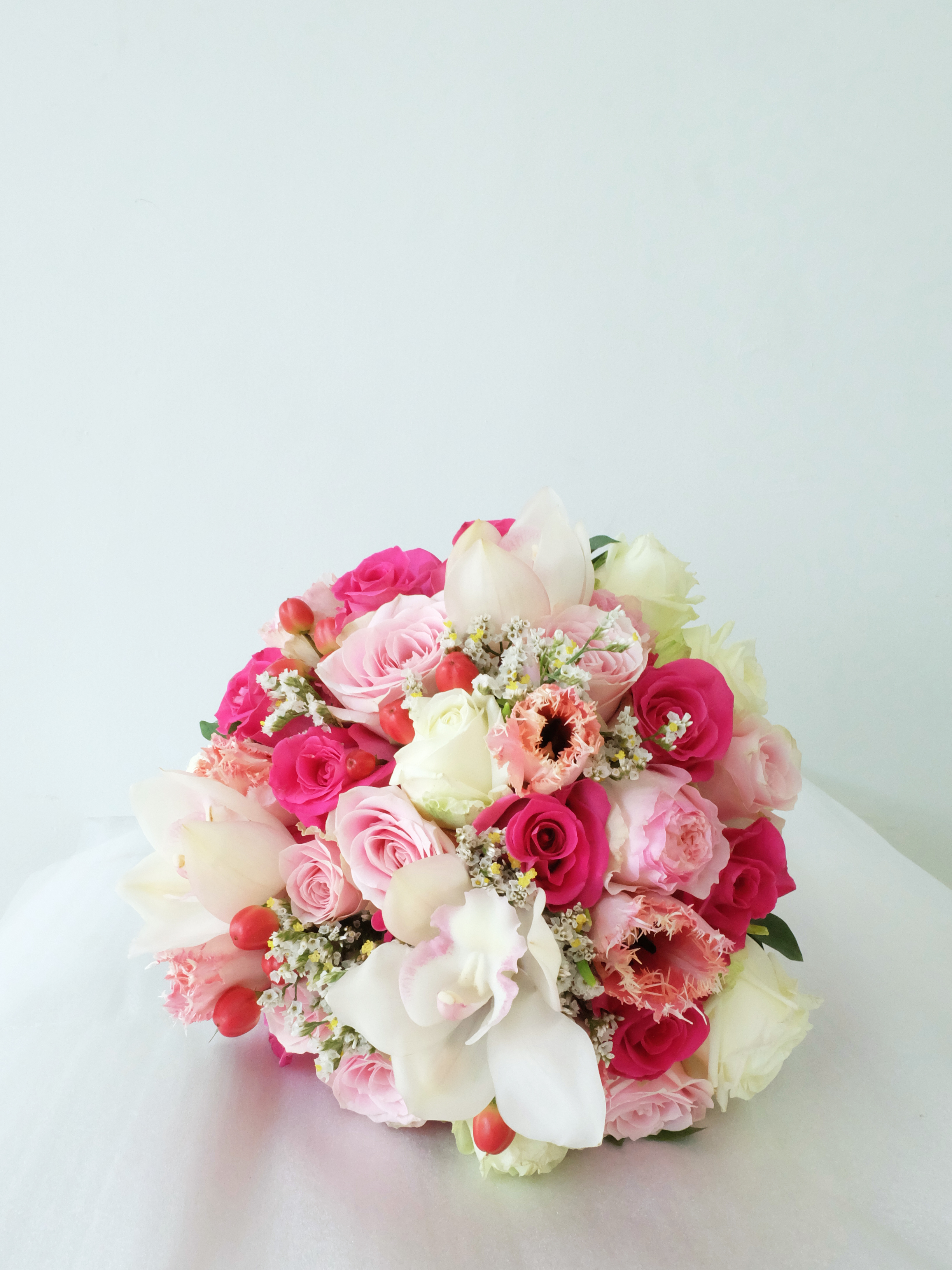 Round bouquet collection by il fiore bridestory izmirmasajfo