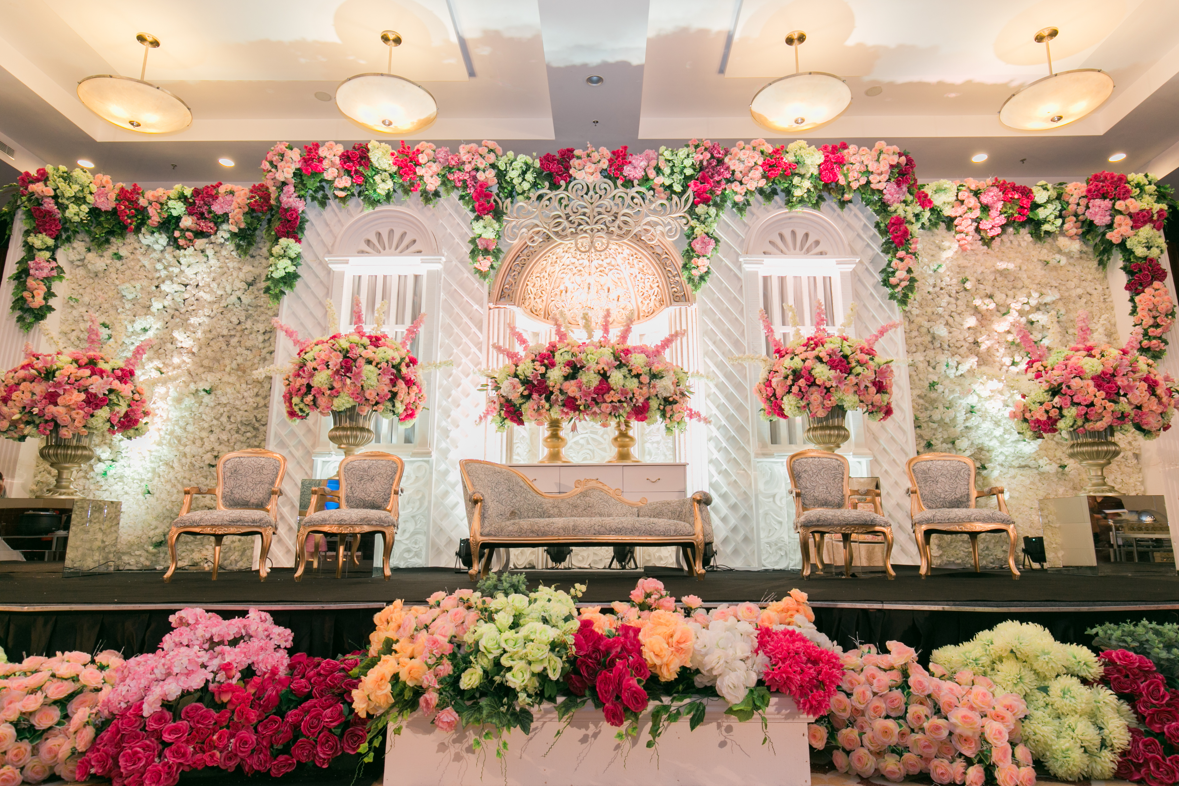 The wedding of kelvin naomi by the swan decoration bridestory junglespirit Image collections