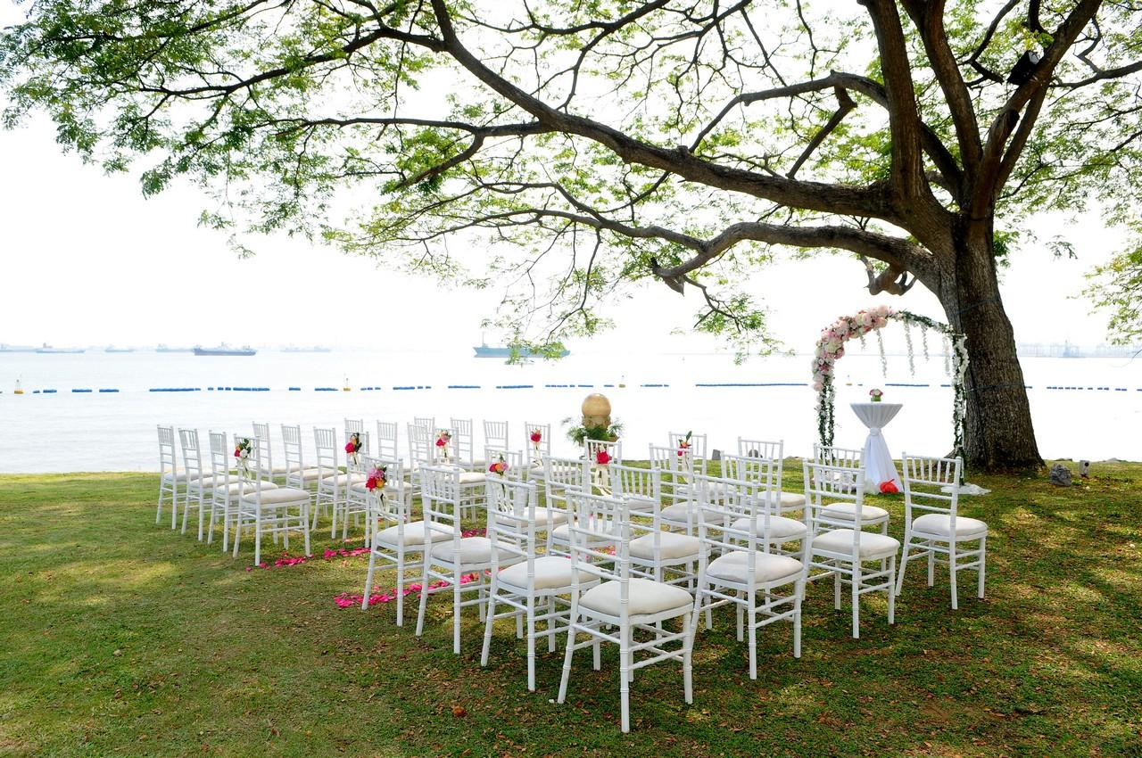 Wedding Venues By Shangri Las Rasa Sentosa Resort Spa Singapore