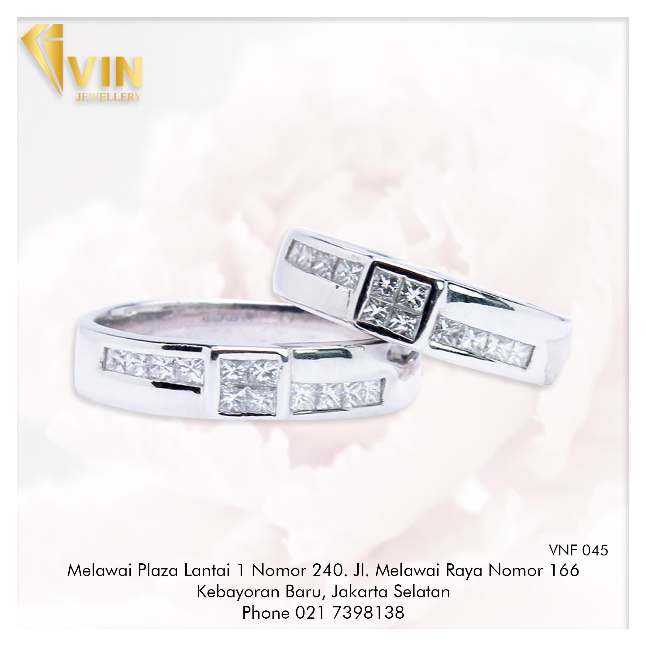Amazing Diamond Wedding Ring Jakarta