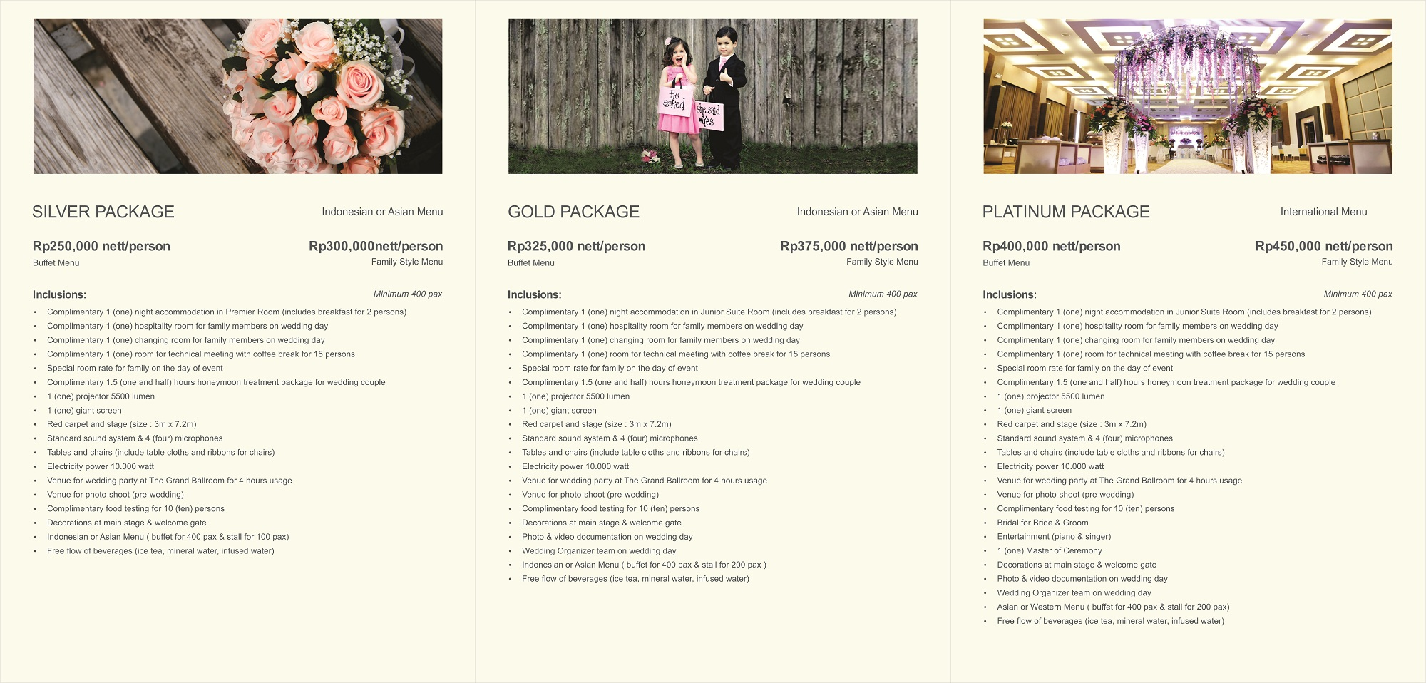 The package by eastparc hotel yogyakarta bridestory junglespirit Choice Image