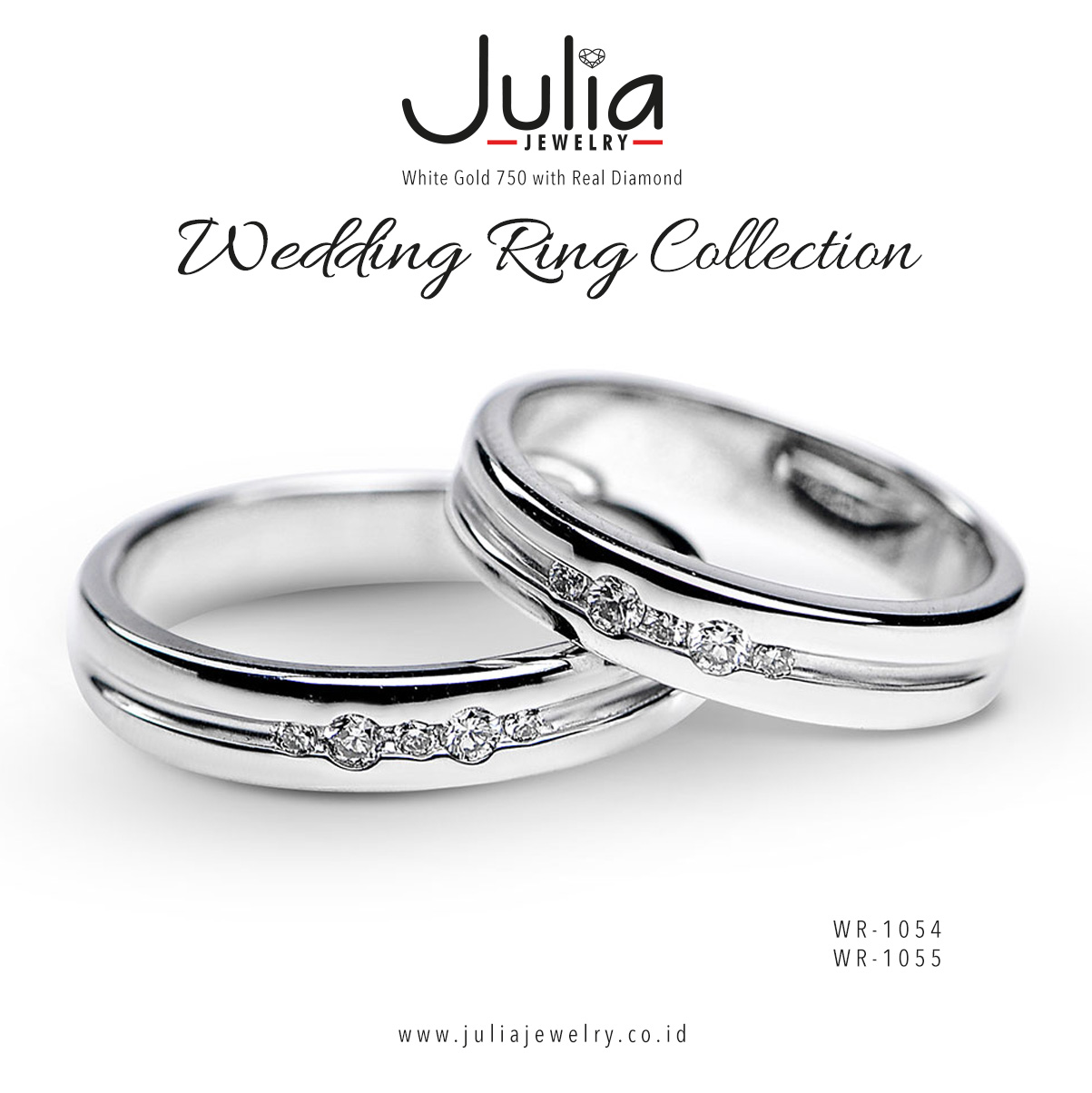 Wedding Ring Collection by Julia Jewelry Bridestorycom