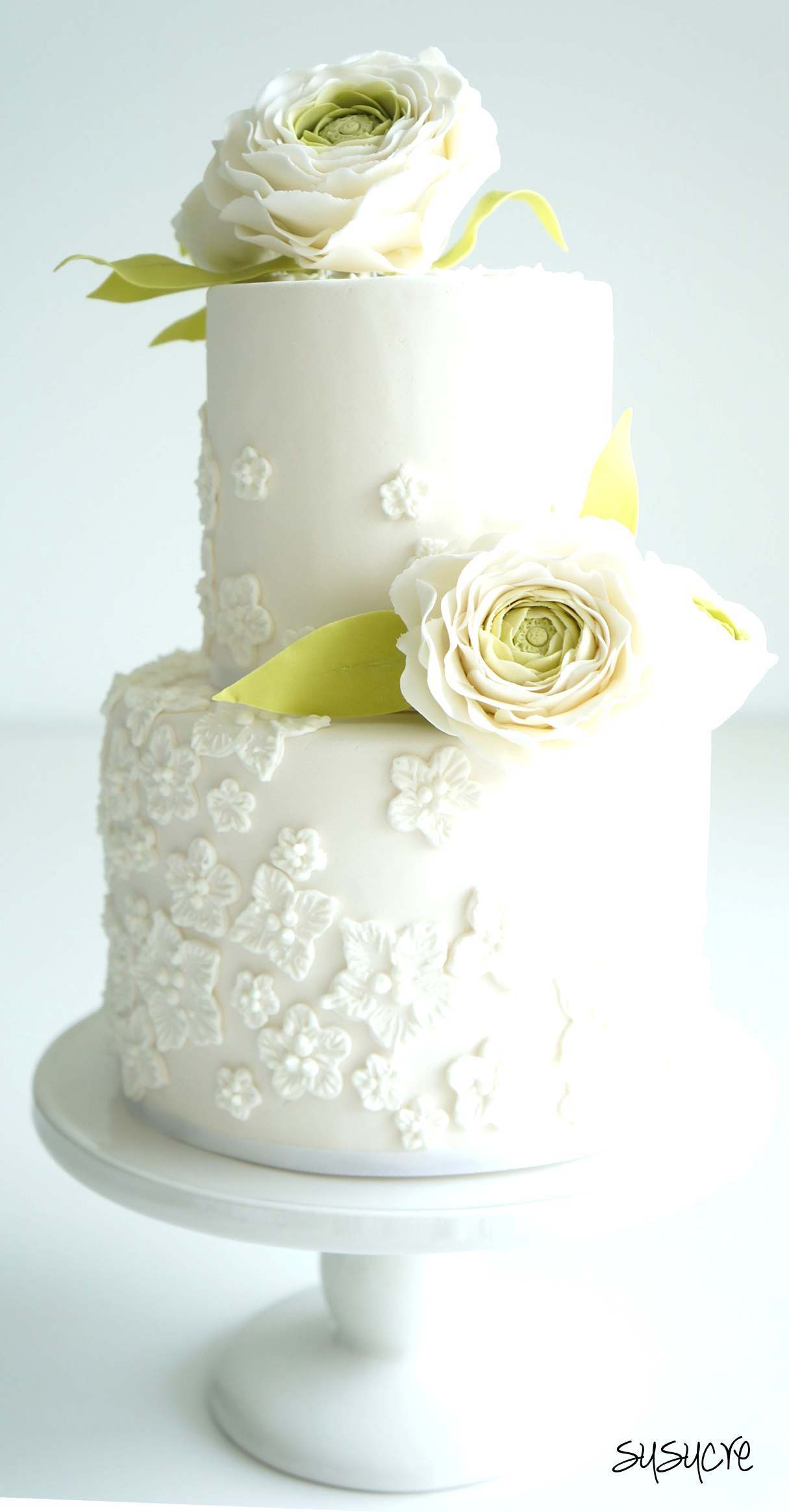 2 tier wedding cake singapore two tier wedding cakes by susucre pte ltd bridestory 10166