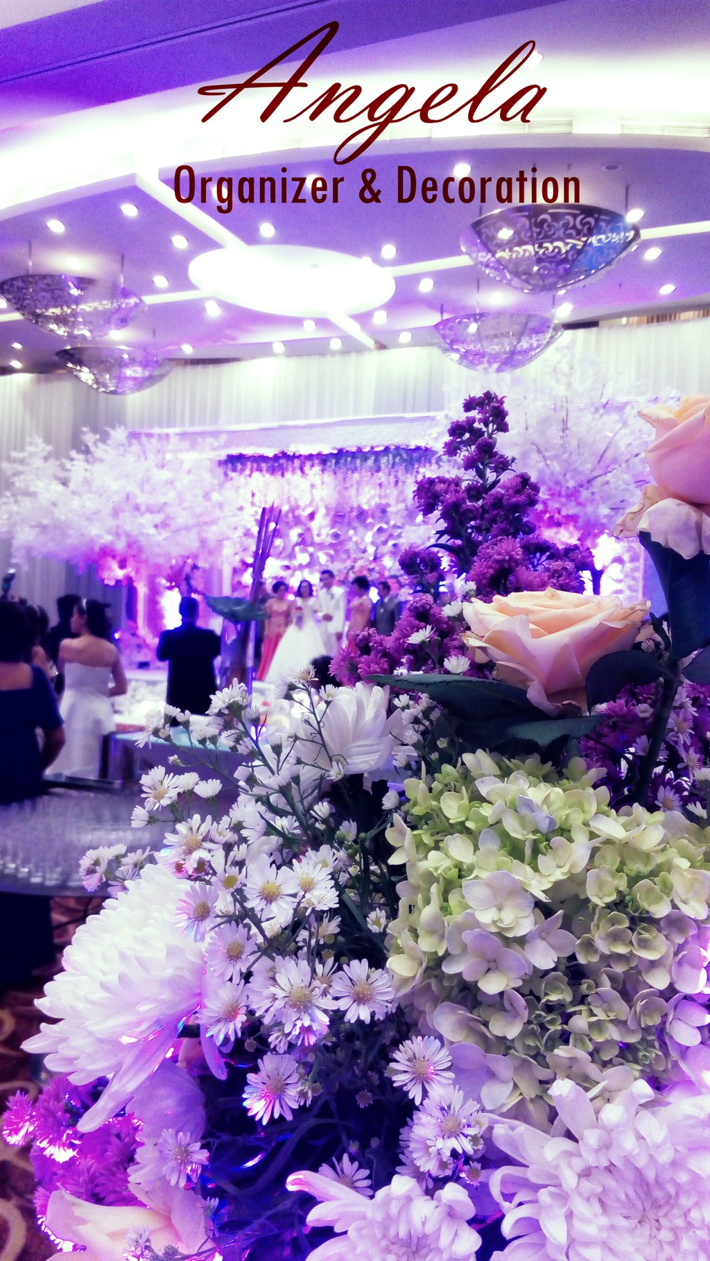 hotel atria gading serpongjoelle decoration | bridestory