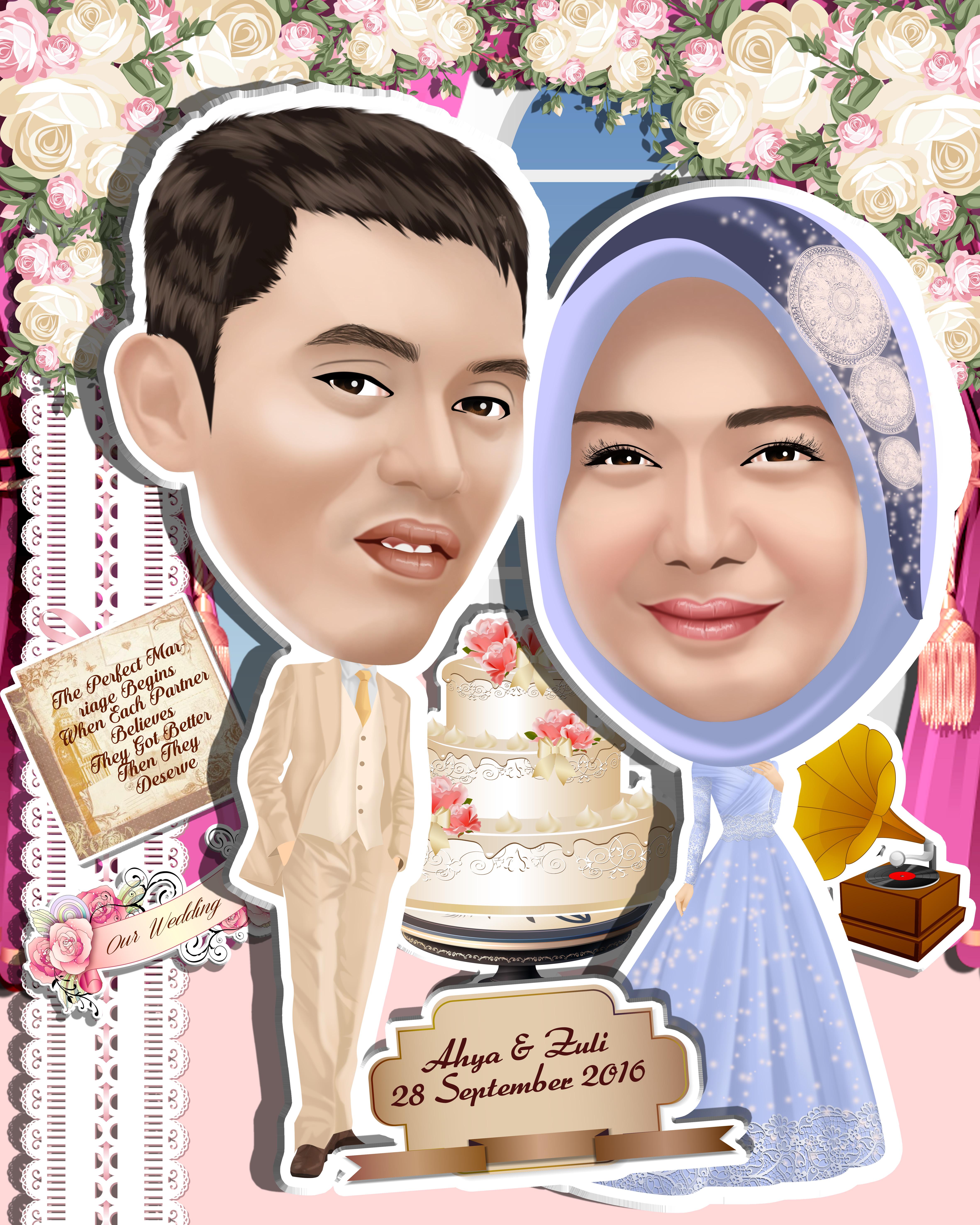 Karikatur by Zonakarikatur   Bridestory.com