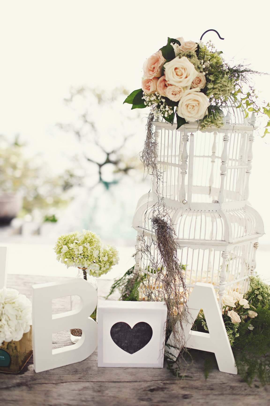 Fine Birdcage Centerpieces Wedding Picture Collection - The Wedding ...