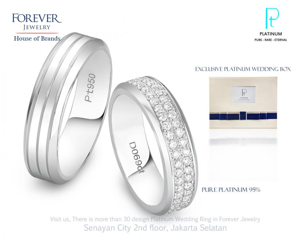 The Platinum Wedding Ring by Forever Jewelry Bridestorycom
