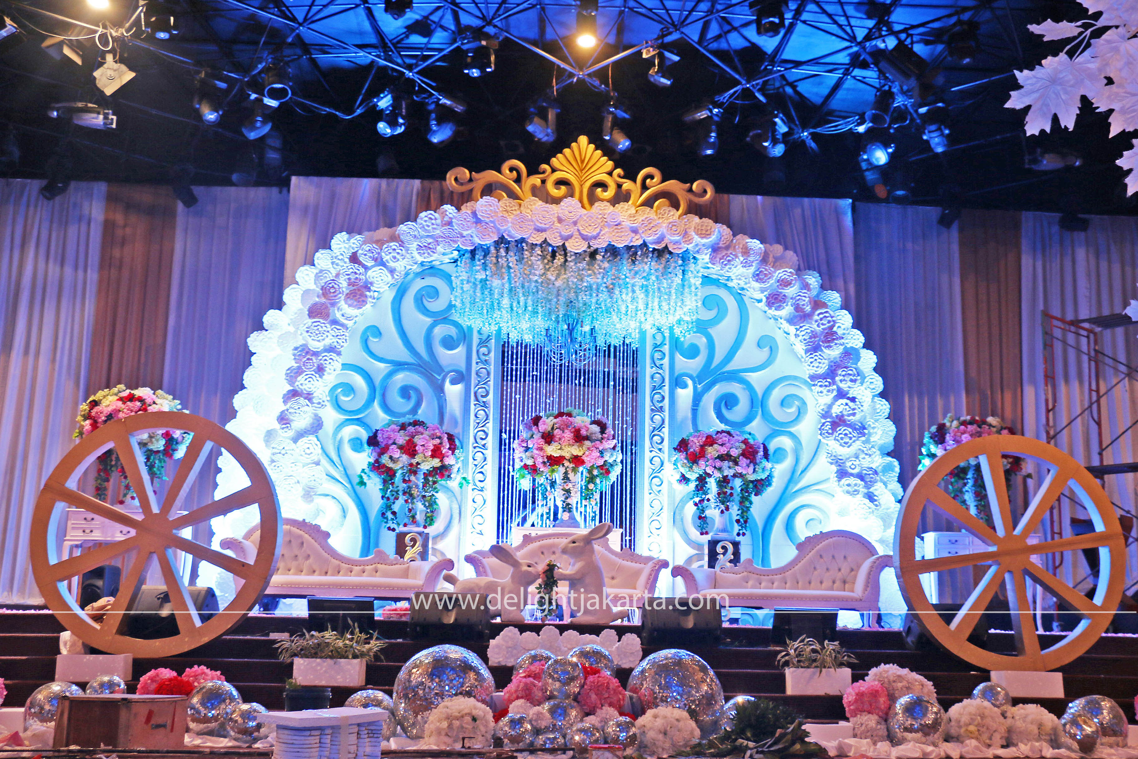 Cinderella Wedding Themed By DeLight Jakarta