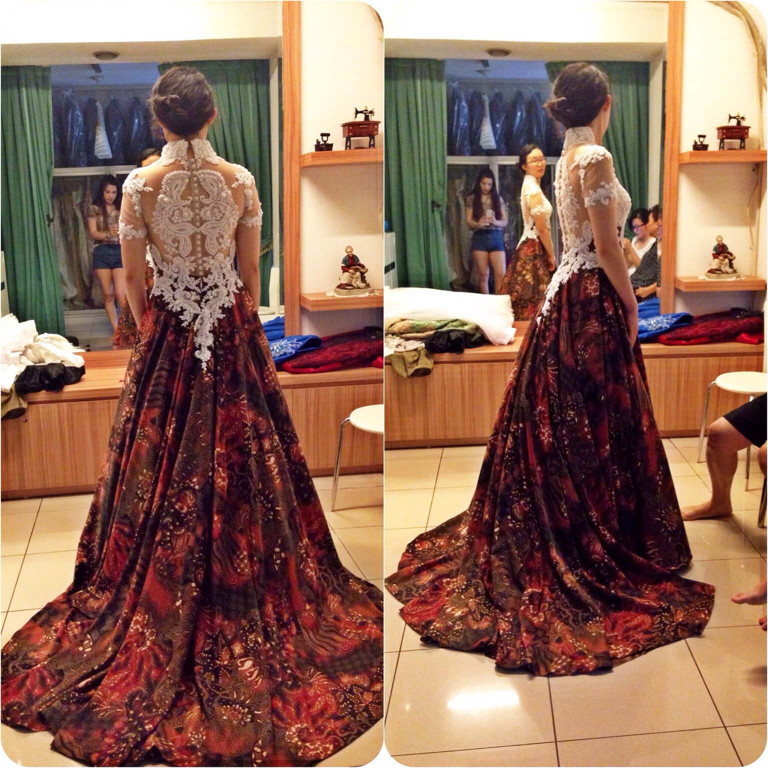 Batik Wedding Dress By Gladicious Bridestory Com