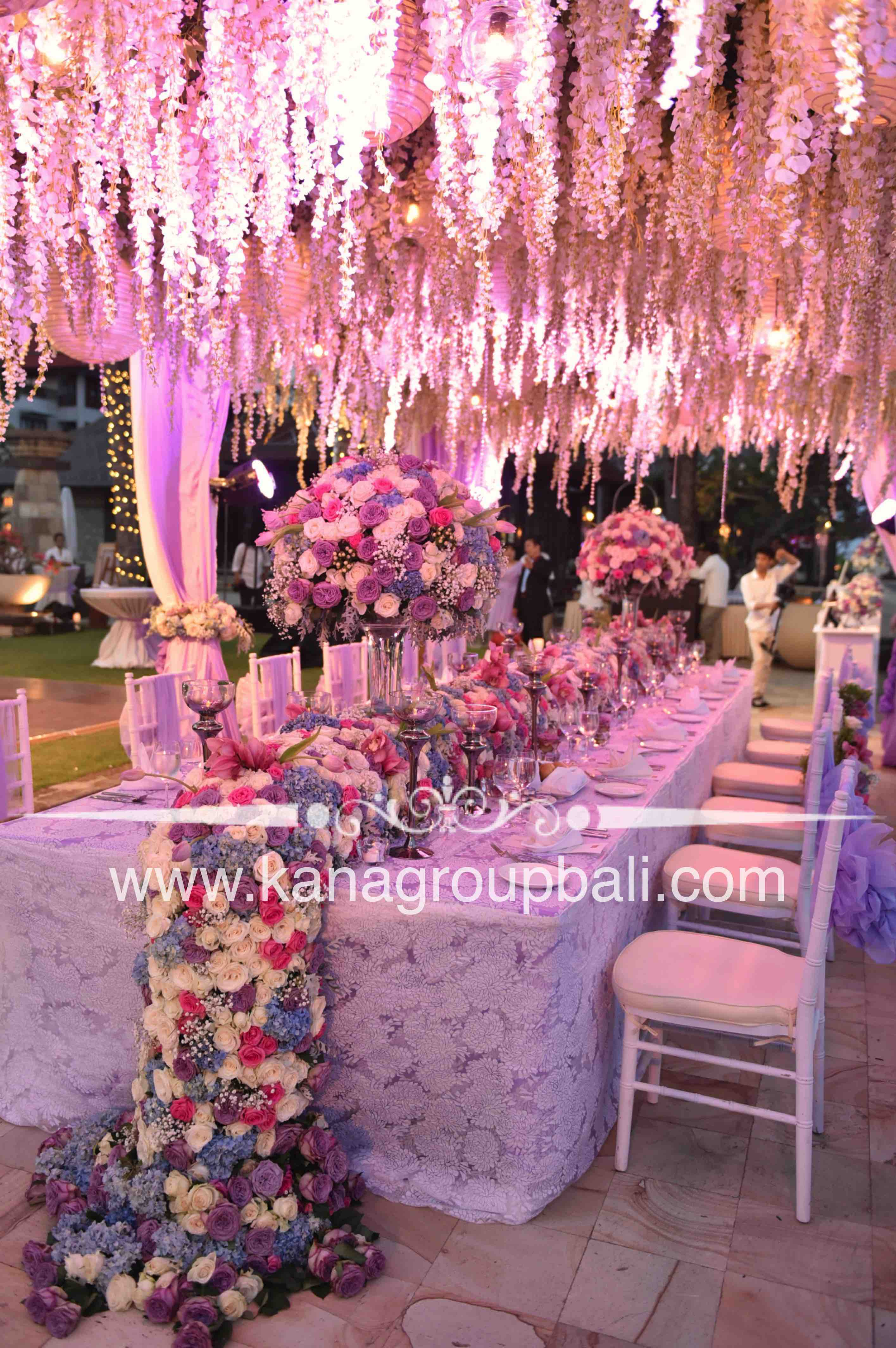 When flower says everything by Bali Wedding Decoration | Bridestory.com