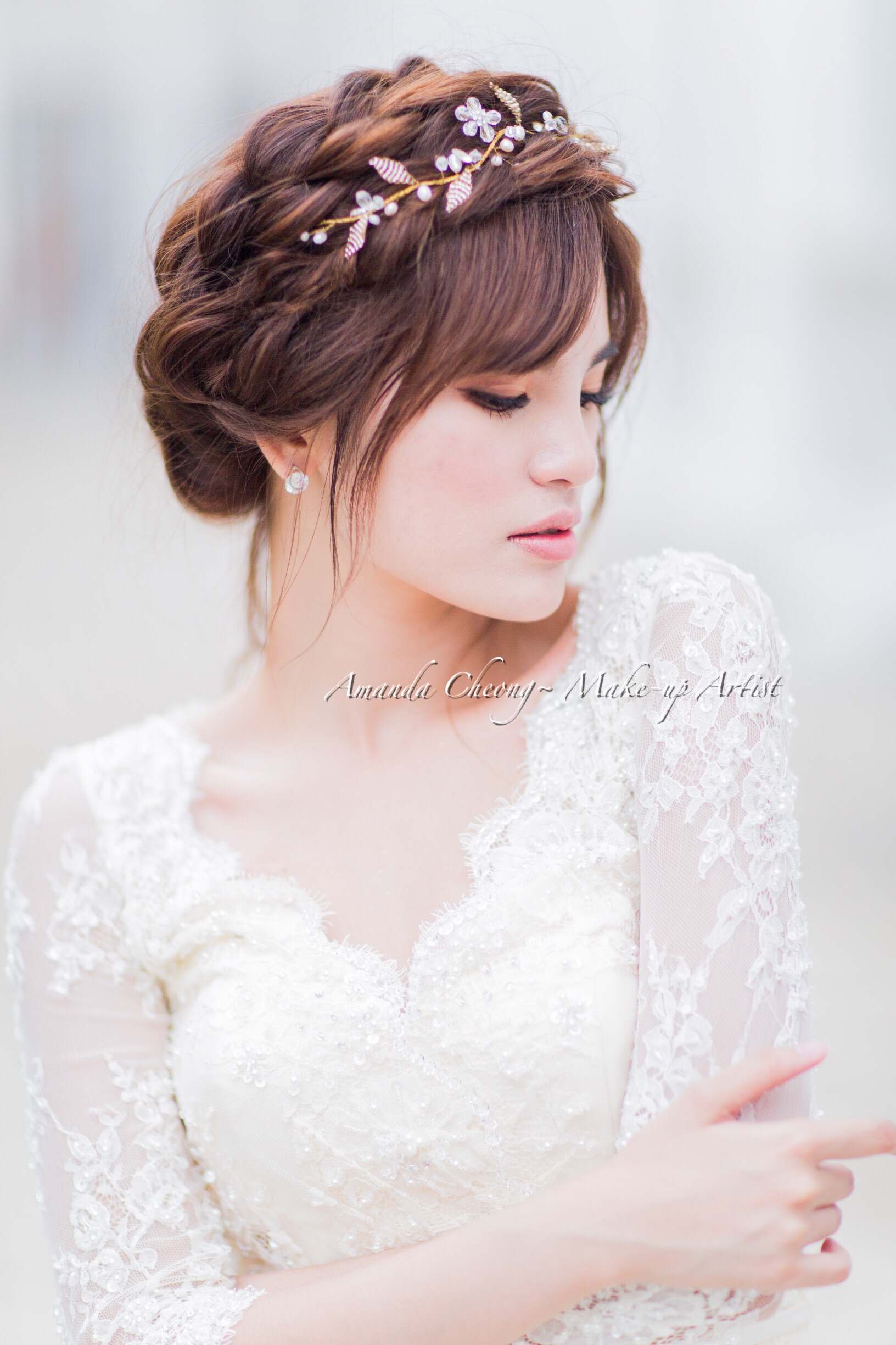 Pre Wedding Make up and hairstyle by Amanda Cheong~Make-up Artist ...