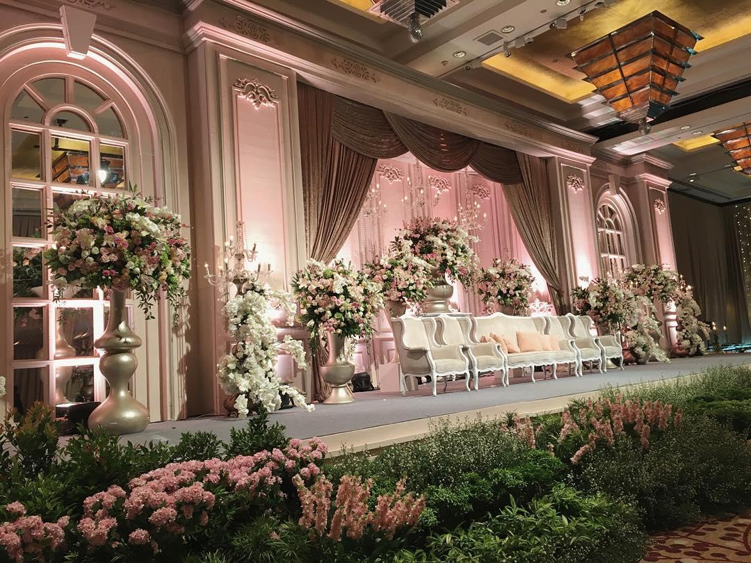 Gregory Sarah Wedding At Grand Ballroom By Hyatt Jakarta